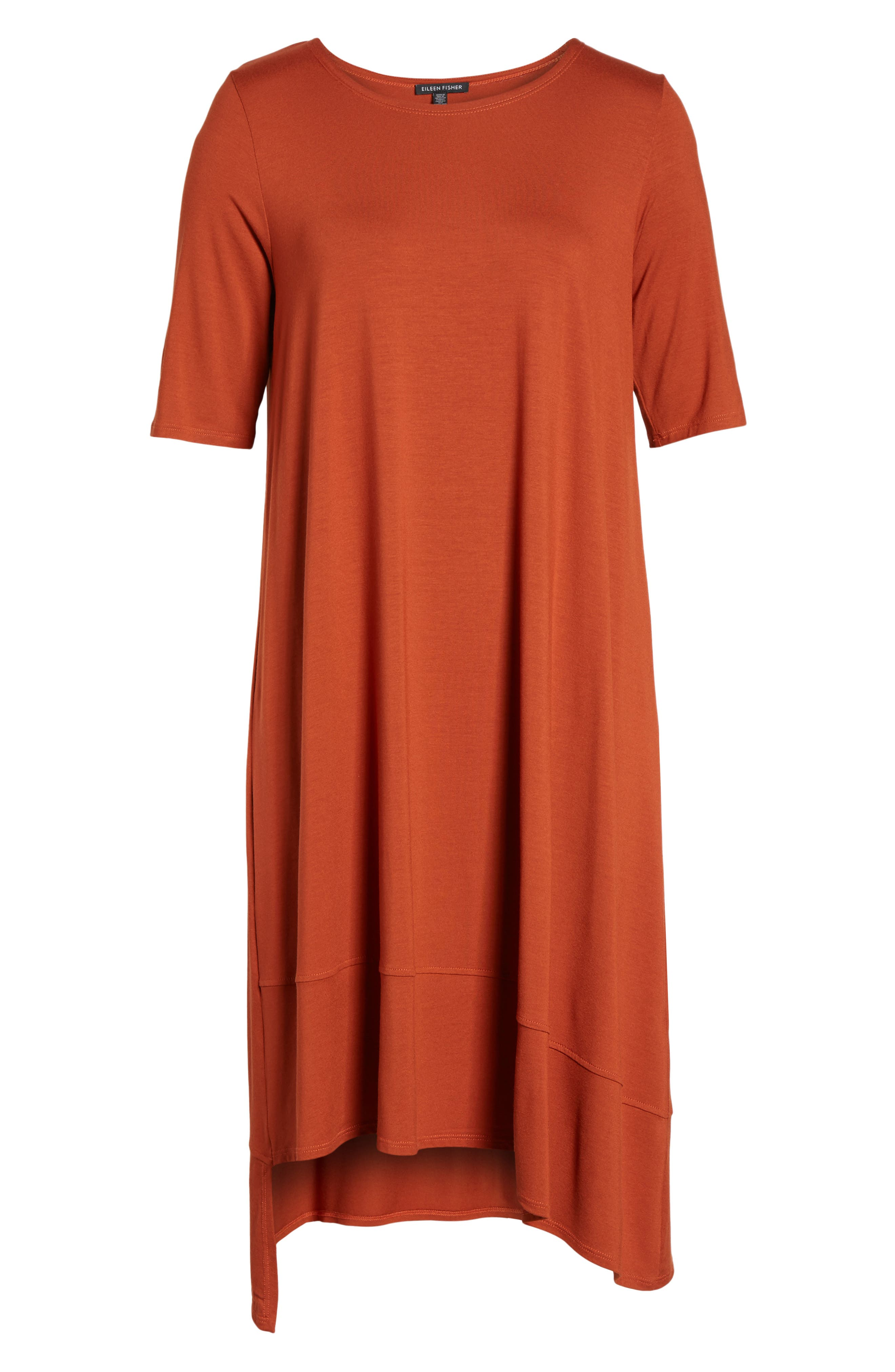 Jersey Asymmetrical A-Line Dress,                             Alternate thumbnail 30, color,