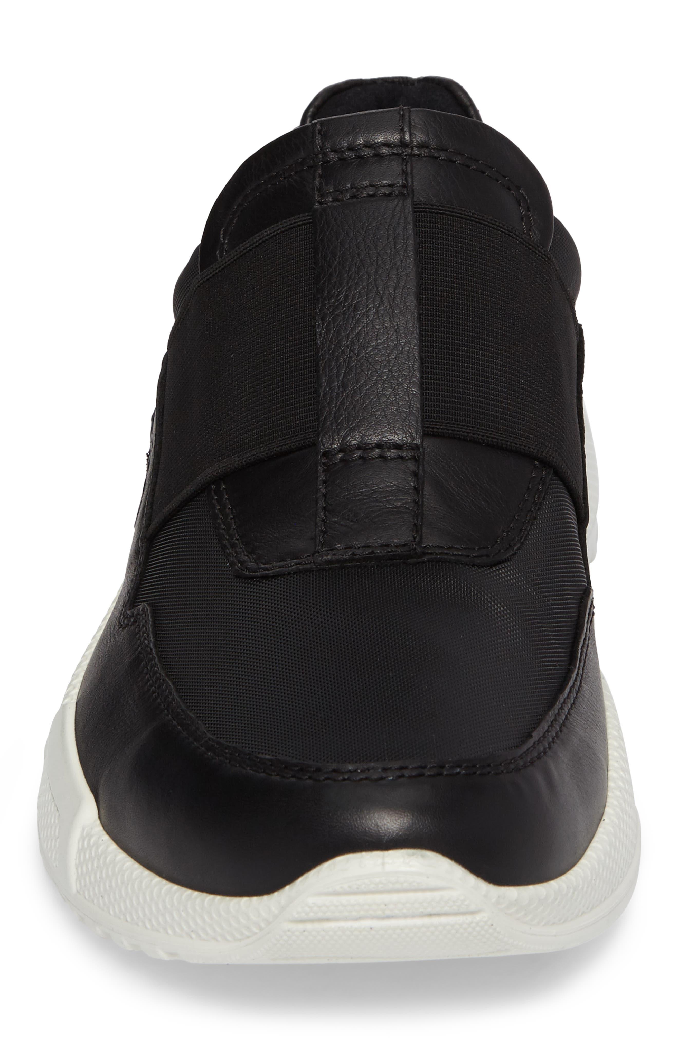 Luca Slip-On Sneaker,                             Alternate thumbnail 4, color,                             001