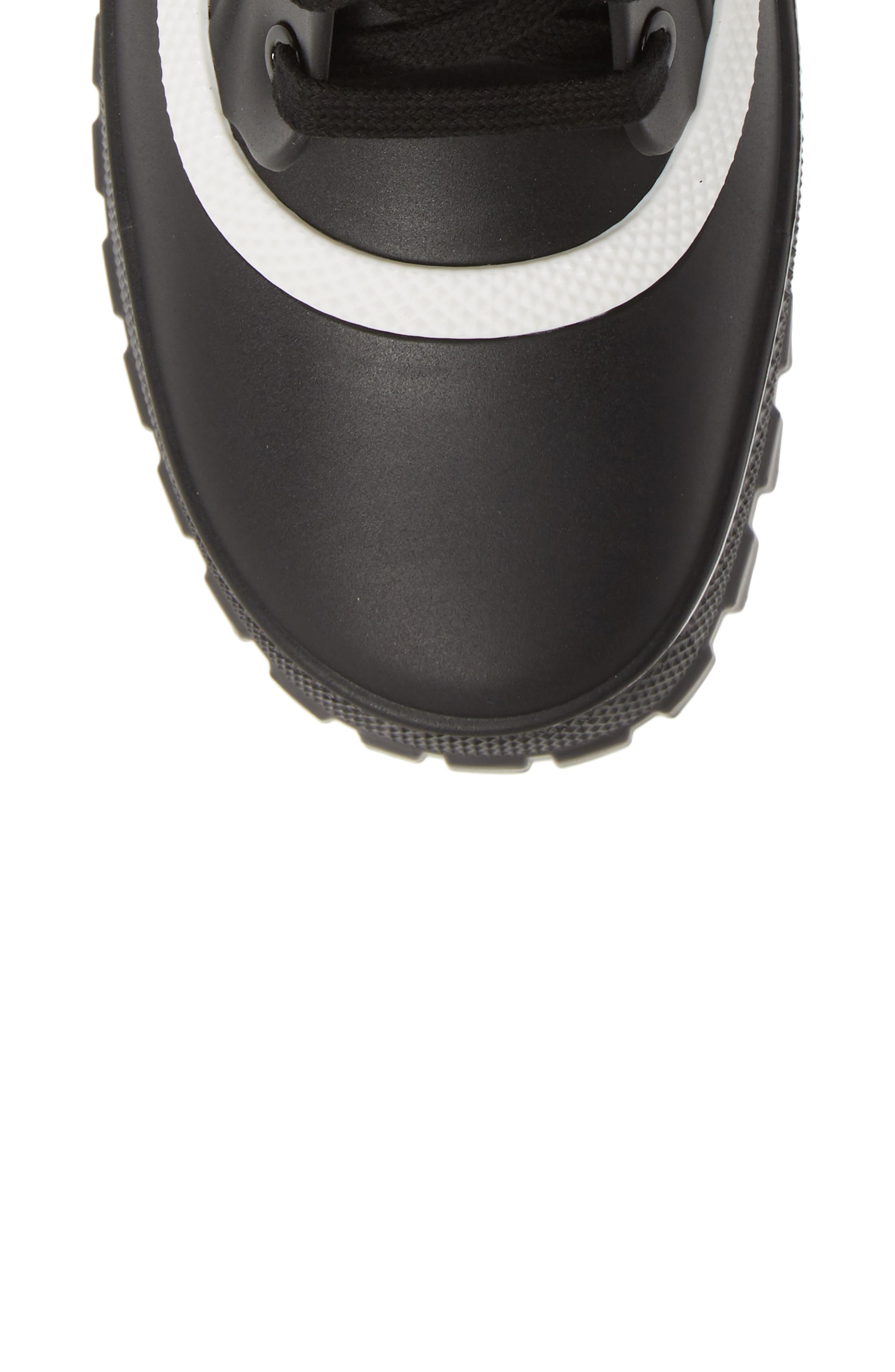 GIVENCHY,                             Glaston Waterproof Ankle Rain Boot,                             Alternate thumbnail 5, color,                             BLACK