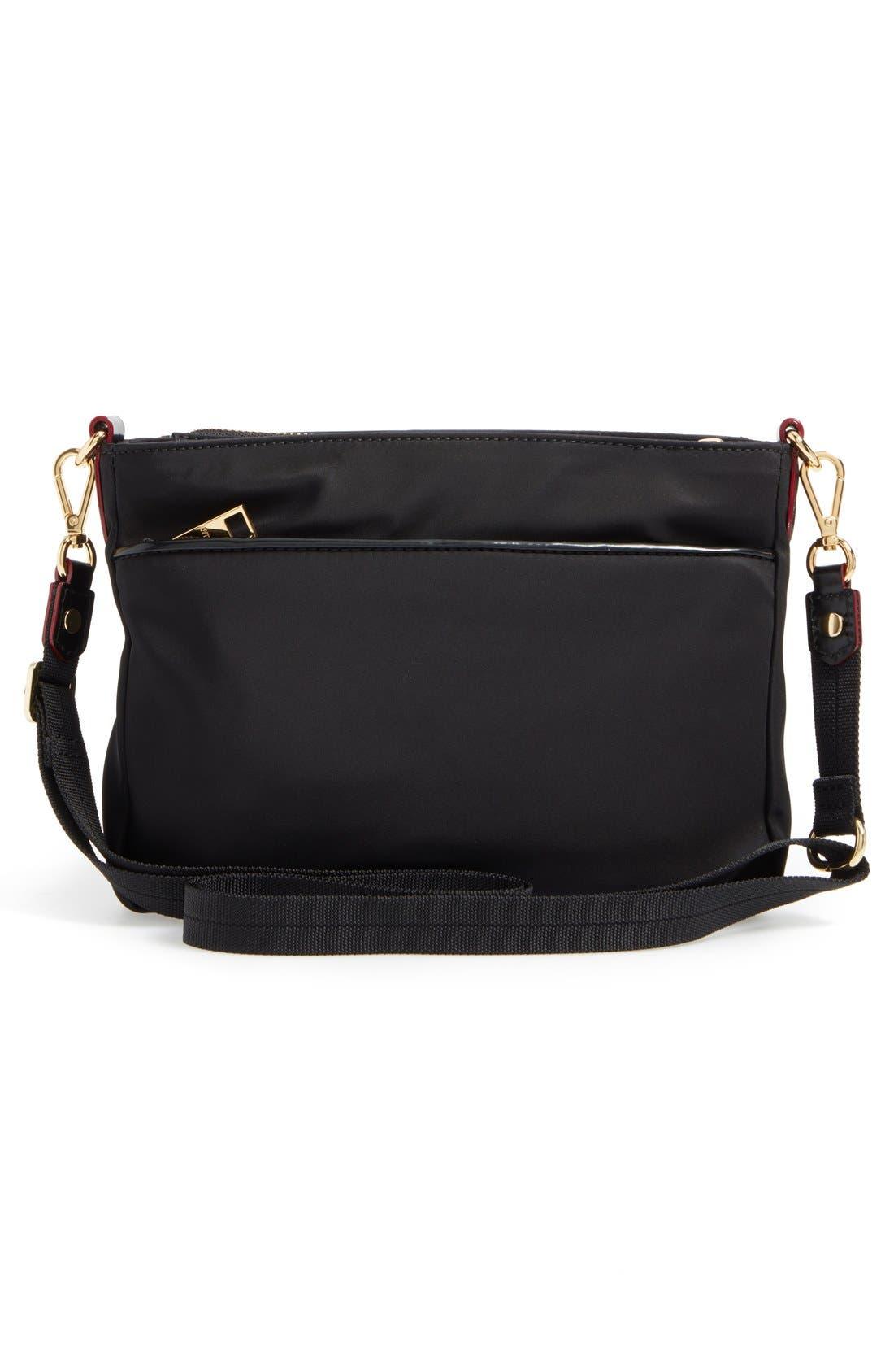 Abbey Crossbody Bag,                             Alternate thumbnail 6, color,                             BLACK BEDFORD
