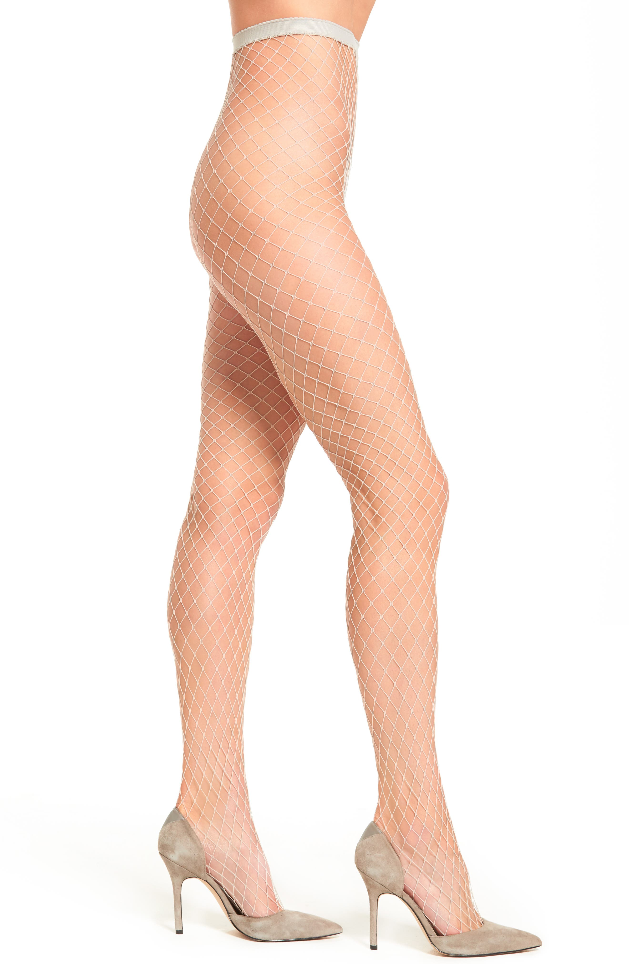 Libby Fishnet Tights,                         Main,                         color, 250