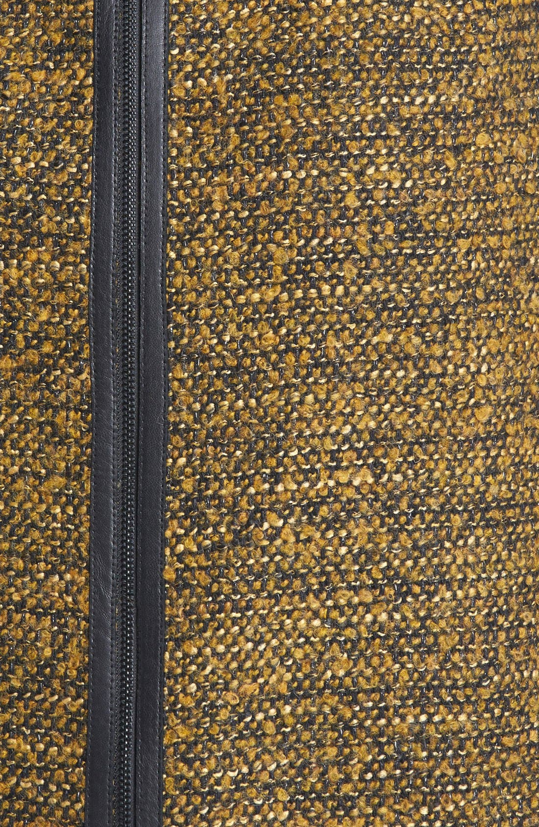 CLASSIQUES ENTIER<SUP>®</SUP>,                             'Kane Weave' Bouclé Skirt,                             Alternate thumbnail 2, color,                             001