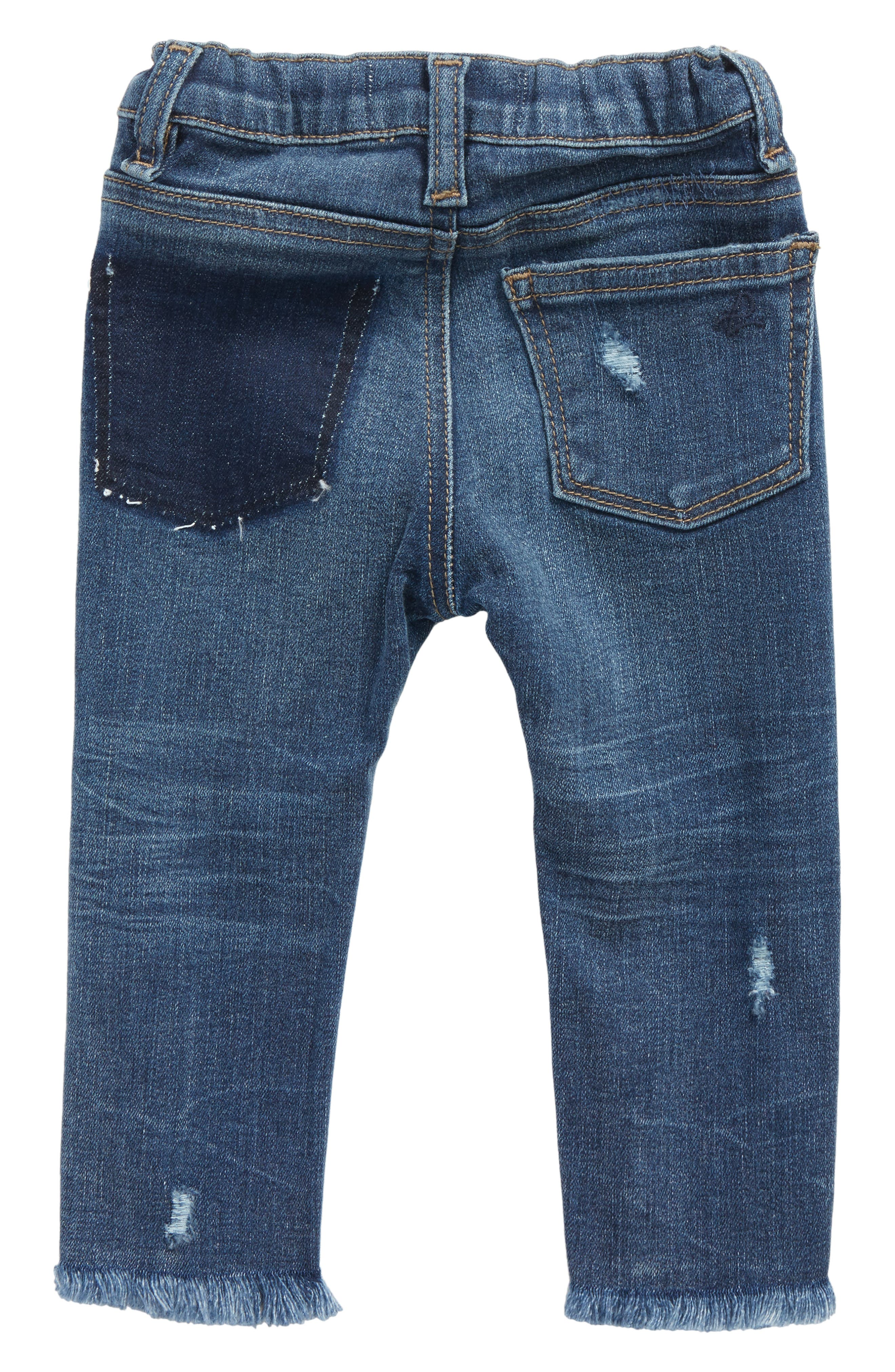Distressed Skinny Jeans,                             Alternate thumbnail 2, color,                             425