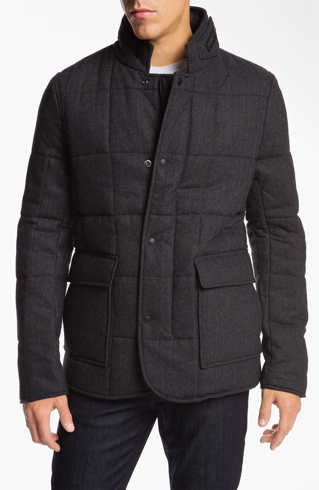 WOOLRICH JOHN RICH Woolrich 'Blizzard' Quilted Jacket, Main, color, 020