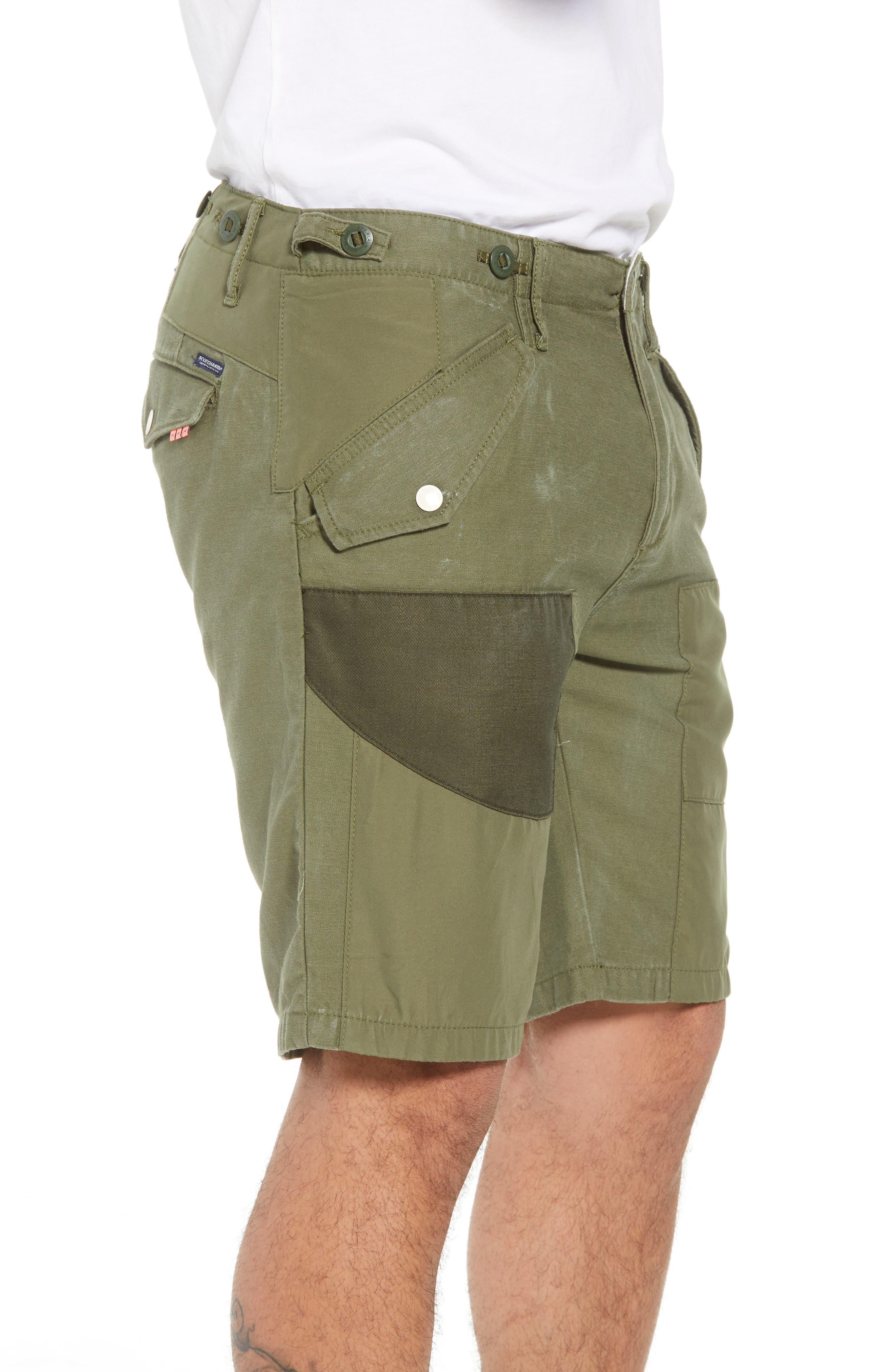 Cargo Shorts,                             Alternate thumbnail 3, color,                             GREEN