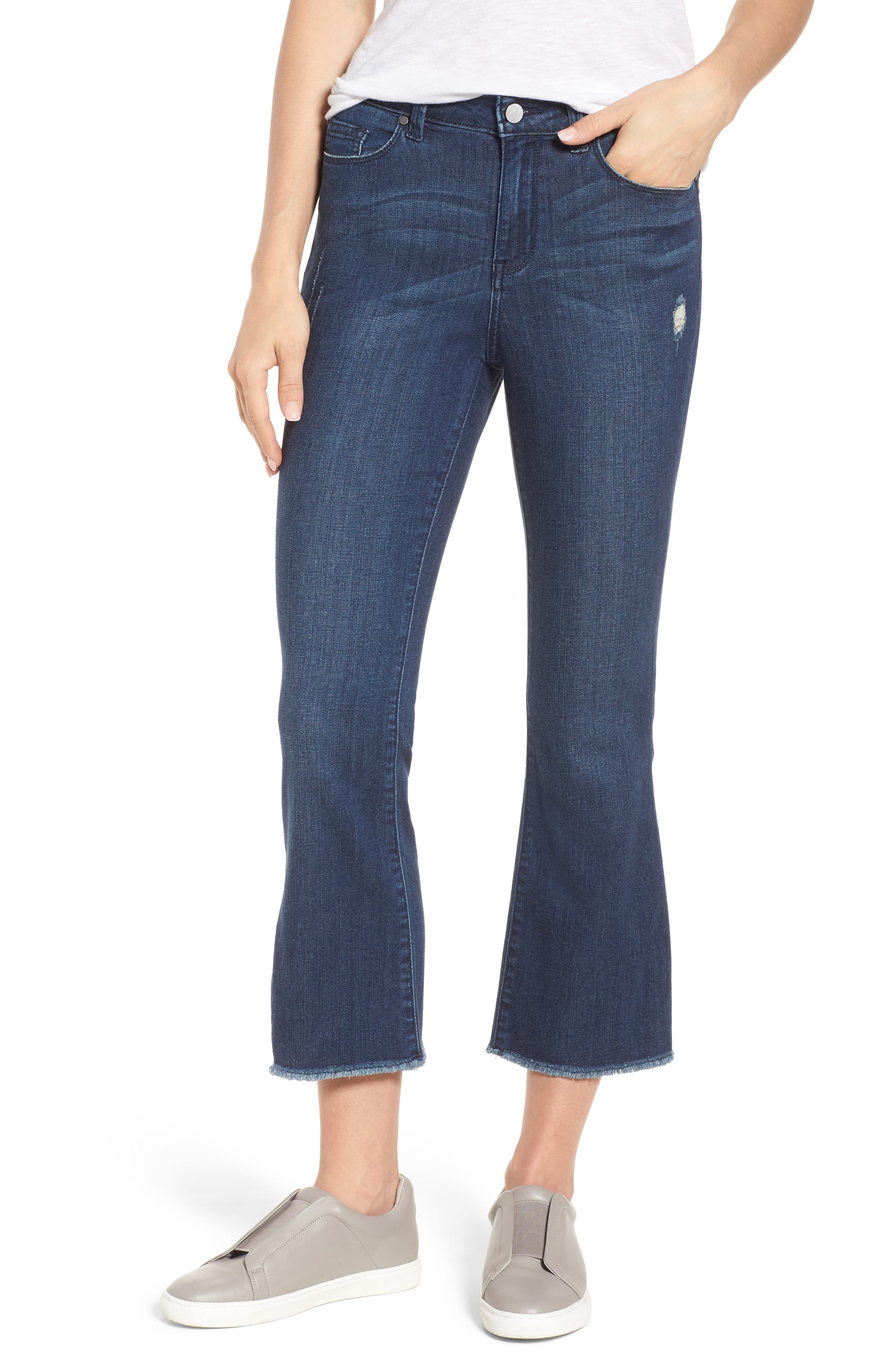 Kick Flare Jeans,                             Main thumbnail 1, color,                             400