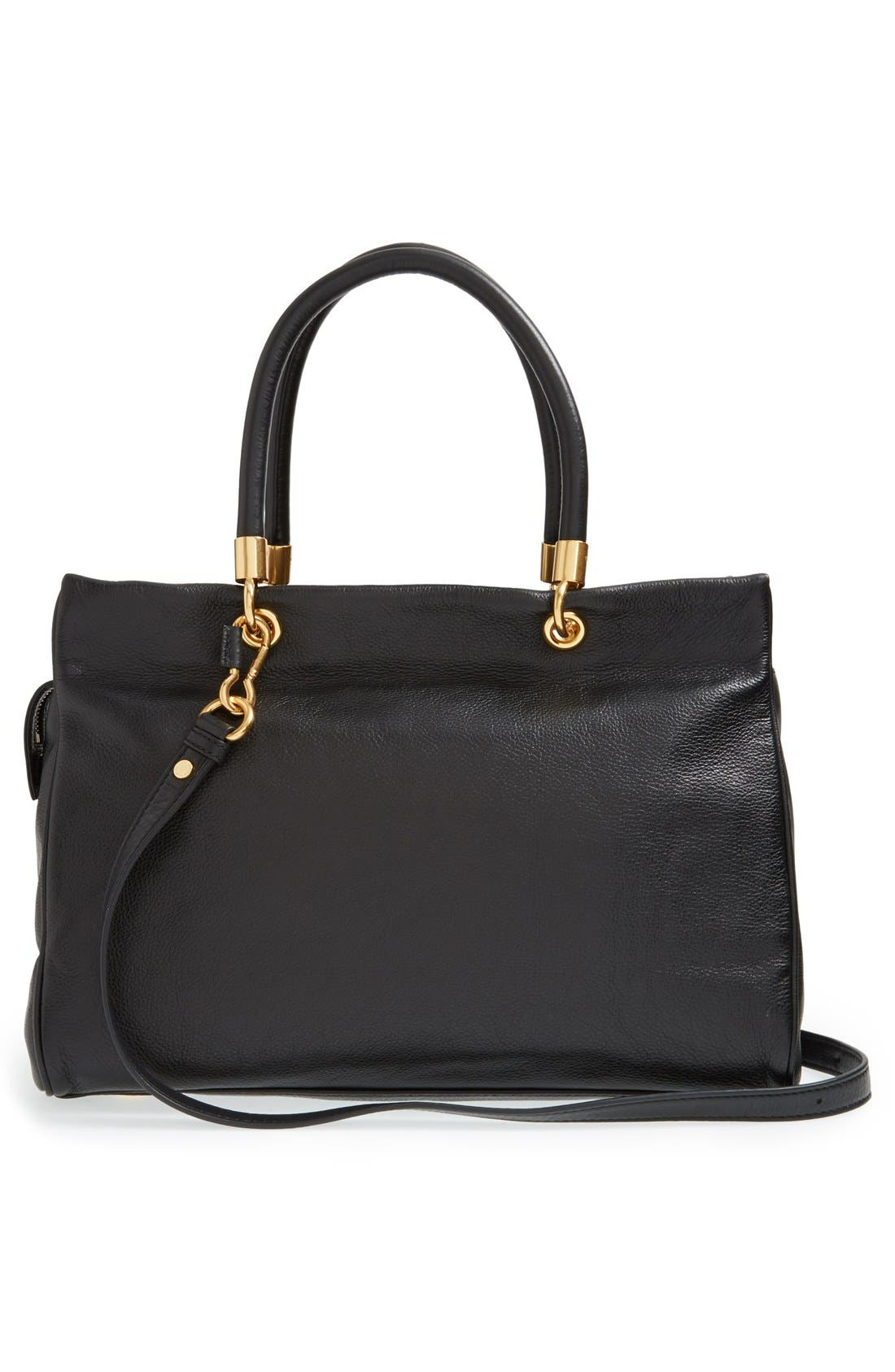 MARC JACOBS,                             MARC BY MARC JACOBS 'Too Hot to Handle' Tote,                             Alternate thumbnail 3, color,                             001