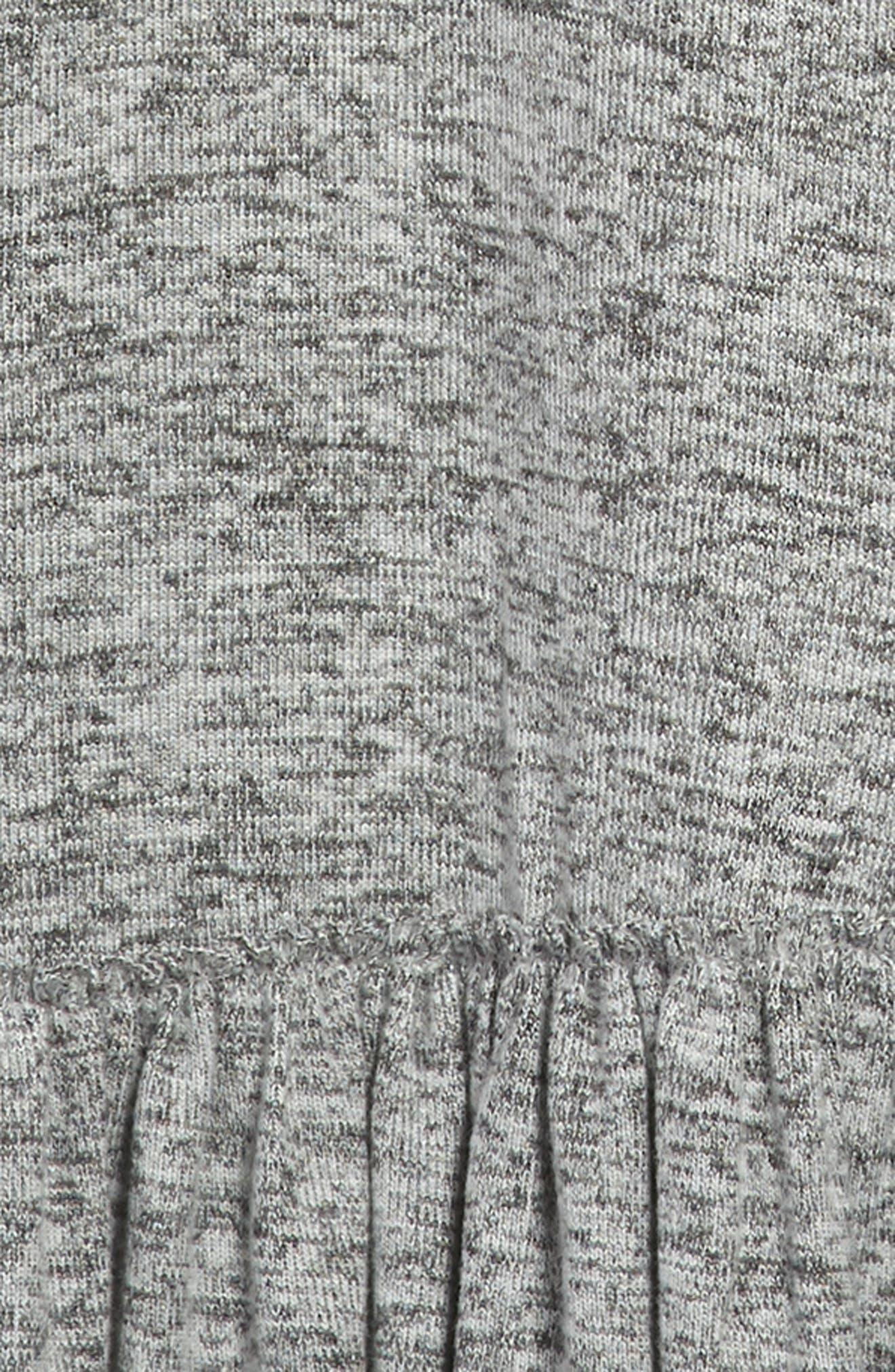 Racerback Knit Dress,                             Alternate thumbnail 3, color,                             050