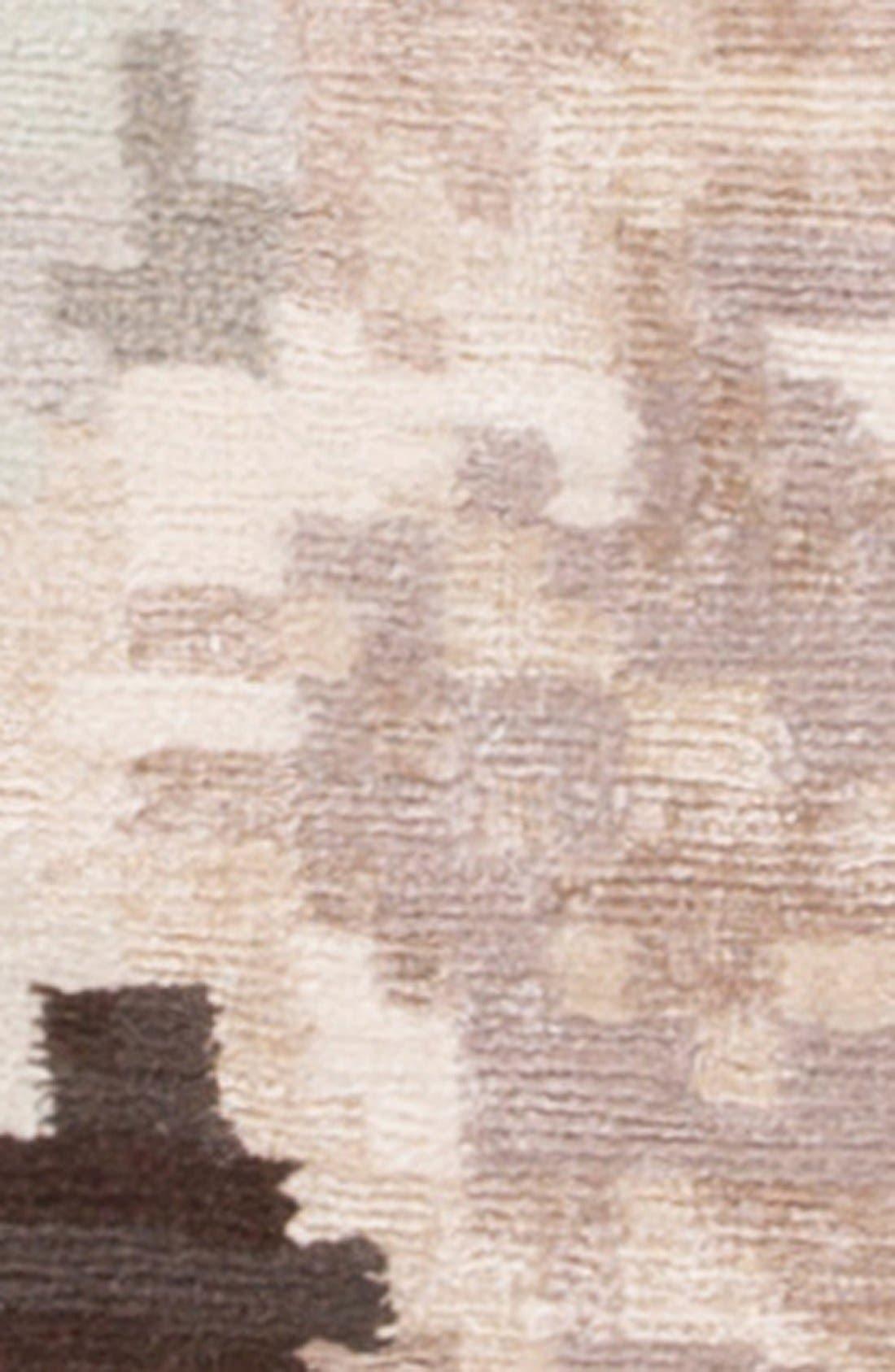 'murray - floral pattern' wool blend rug,                             Alternate thumbnail 3, color,                             200