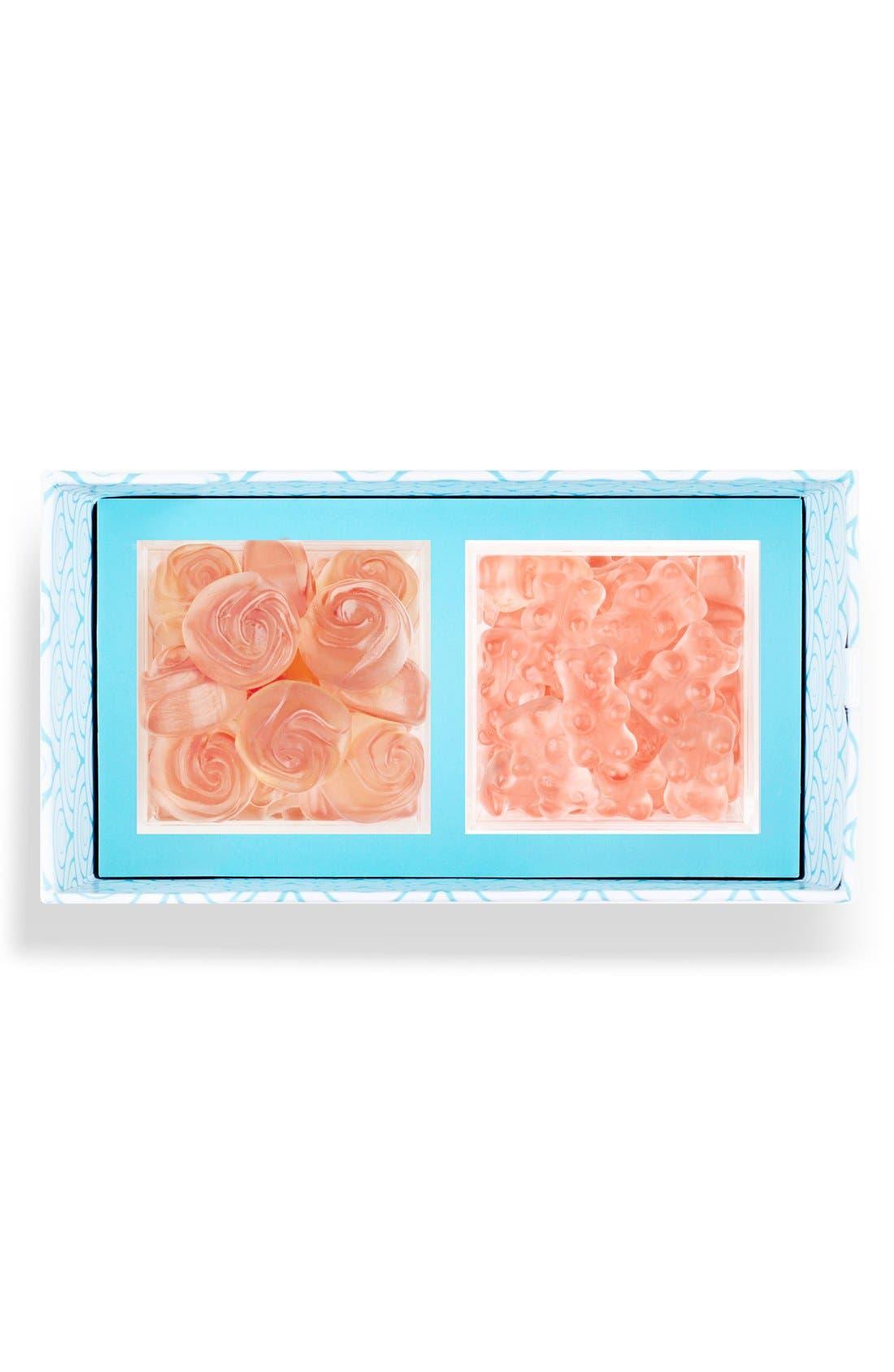 Rosé All Day Candy Bento Box,                             Main thumbnail 1, color,