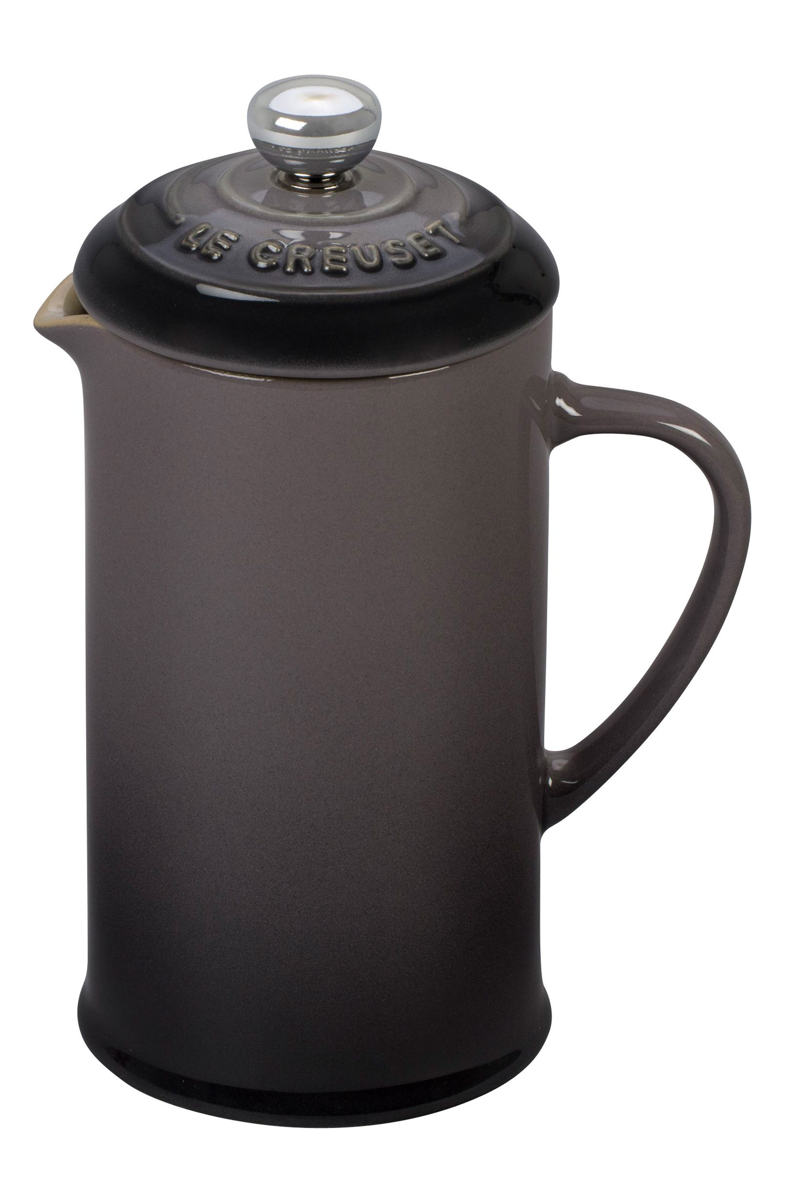 Stoneware French Press,                         Main,                         color, 020