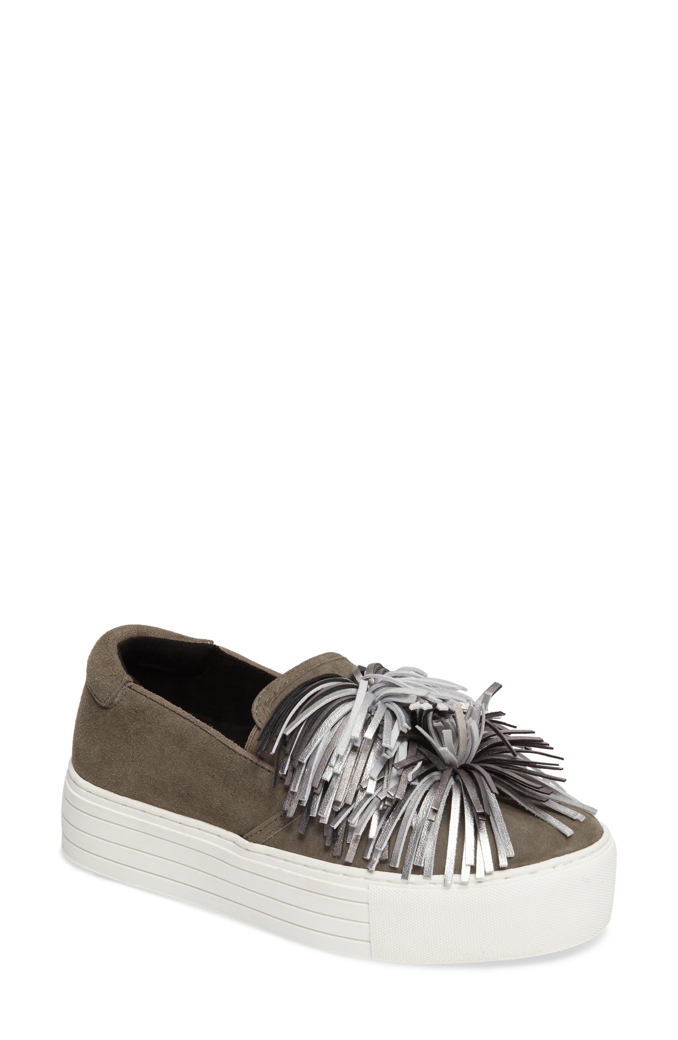 Jayson Pom Platform Sneaker,                         Main,                         color, 090