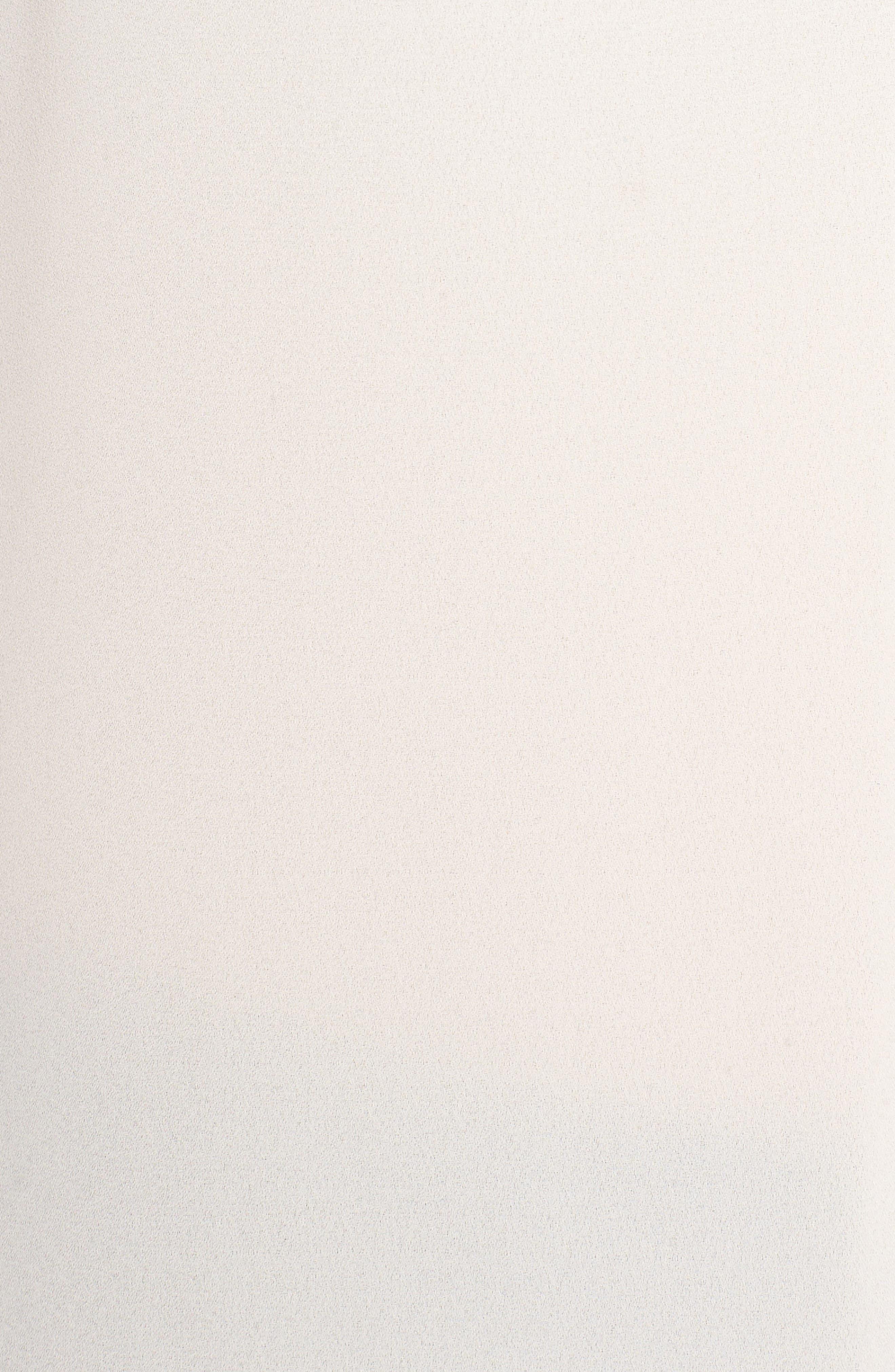 'Edie' Pleat V-Neck Blouse,                             Alternate thumbnail 5, color,                             685