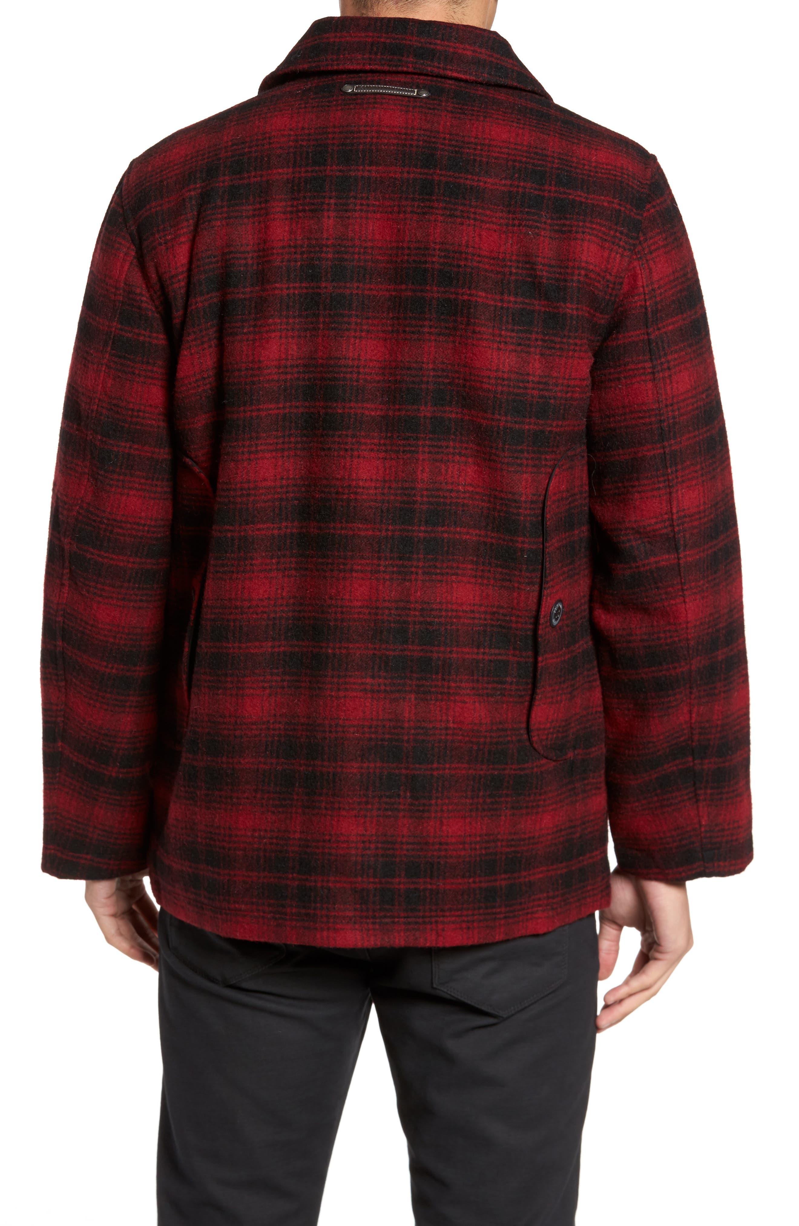 Hunter Jack Wool Blend Shirt Jacket,                             Alternate thumbnail 2, color,