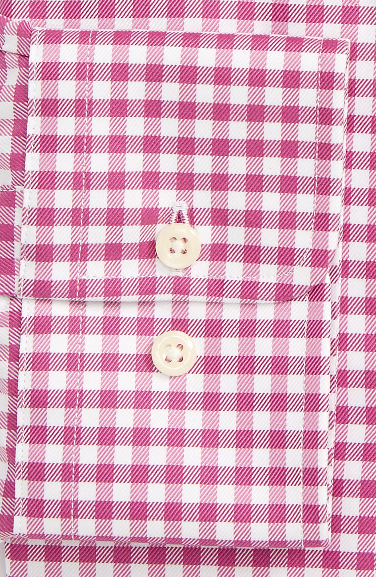 Regular Fit Check Dress Shirt,                             Alternate thumbnail 2, color,                             652