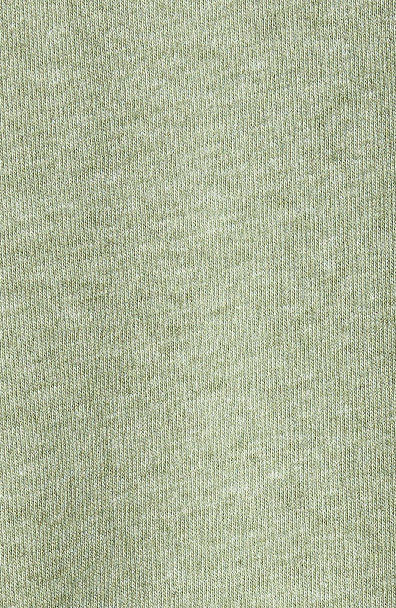 Mt. Hood Crewneck T-Shirt,                             Alternate thumbnail 5, color,                             FOREST GREEN