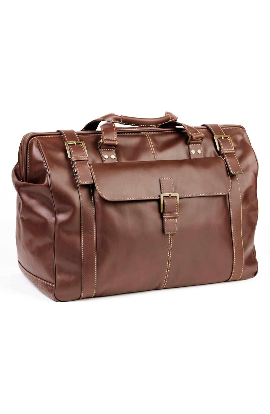 'Bryant' Duffel Bag,                         Main,                         color, ANTIQUE MAHOGANY