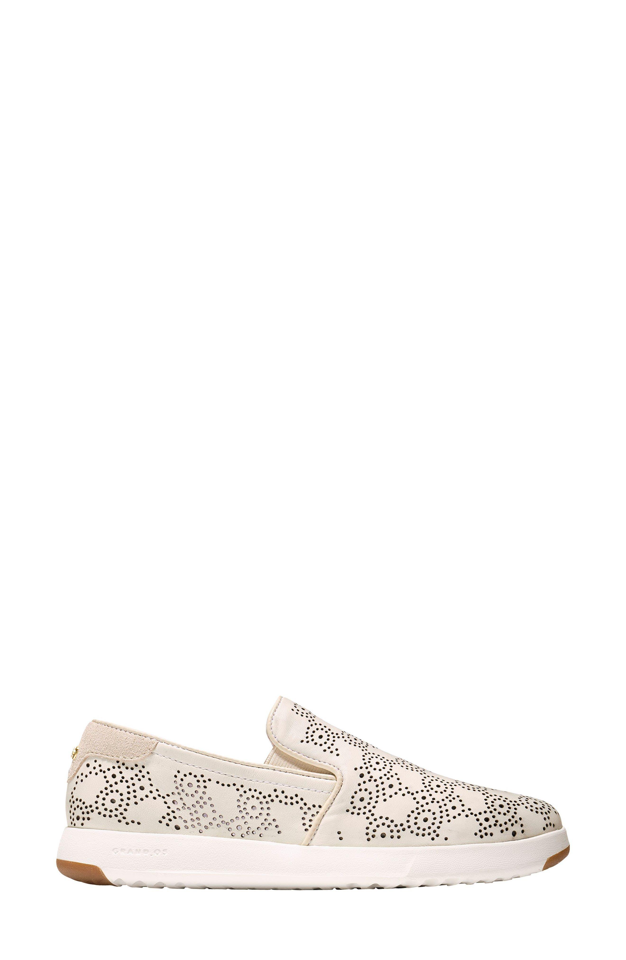GrandPro Perforated Slip-On Sneaker,                             Alternate thumbnail 5, color,