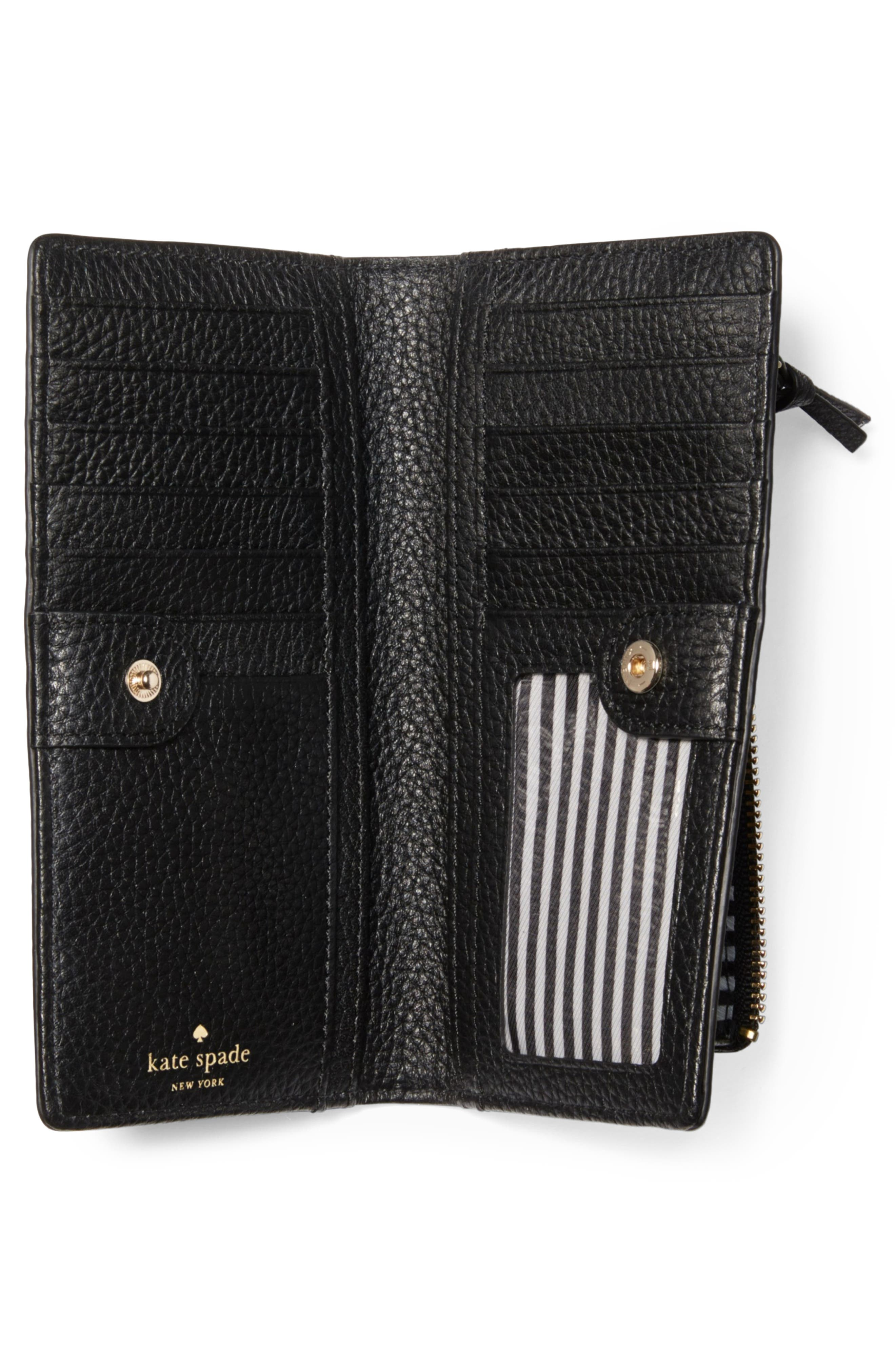 jackson street stacy leather wallet,                             Alternate thumbnail 2, color,                             001