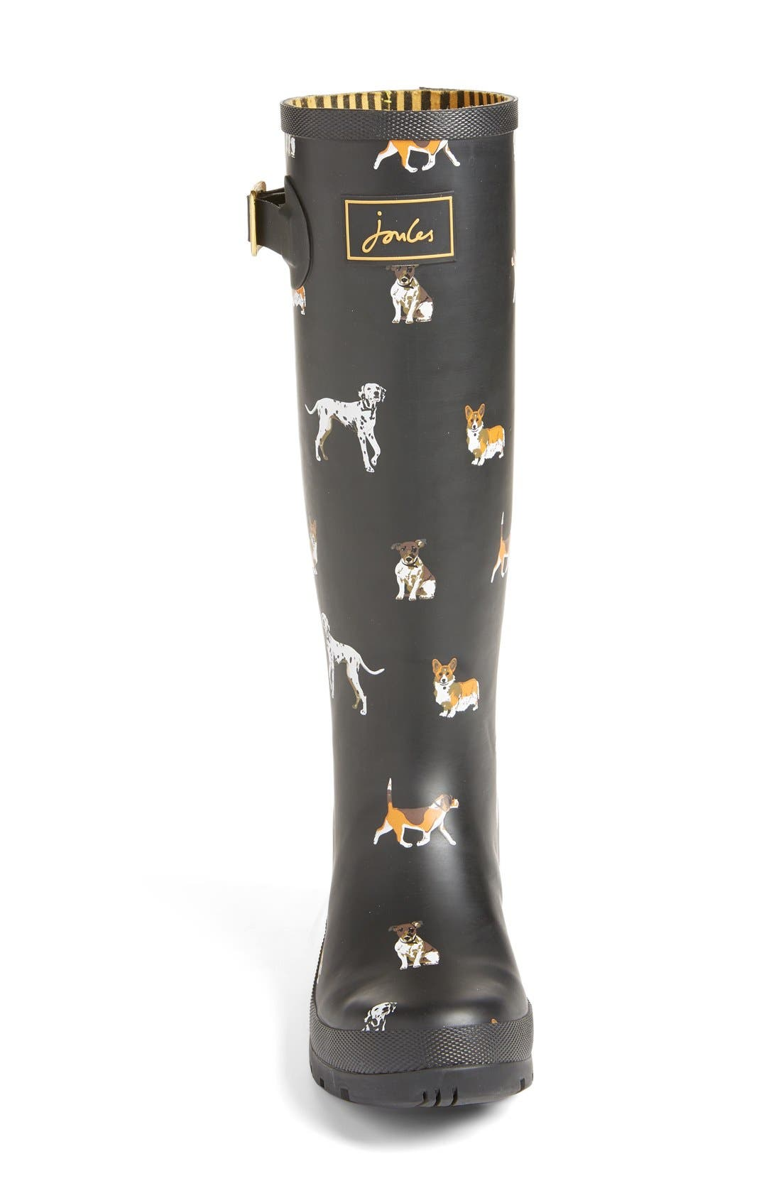 'Welly' Print Rain Boot,                             Alternate thumbnail 73, color,