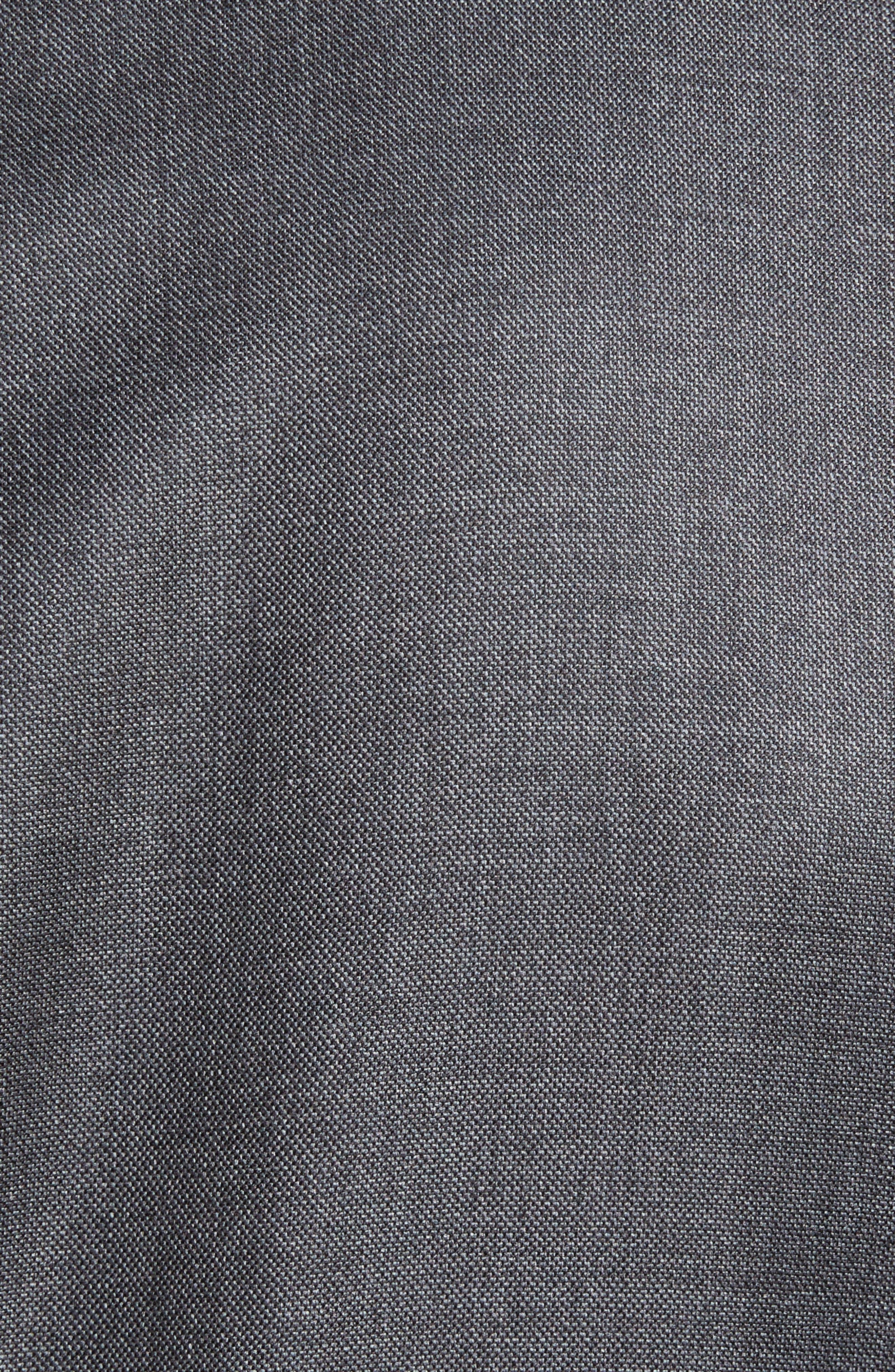 SAMUELSOHN,                             Beckett Classic Fit Sharkskin Wool Suit,                             Alternate thumbnail 7, color,                             020