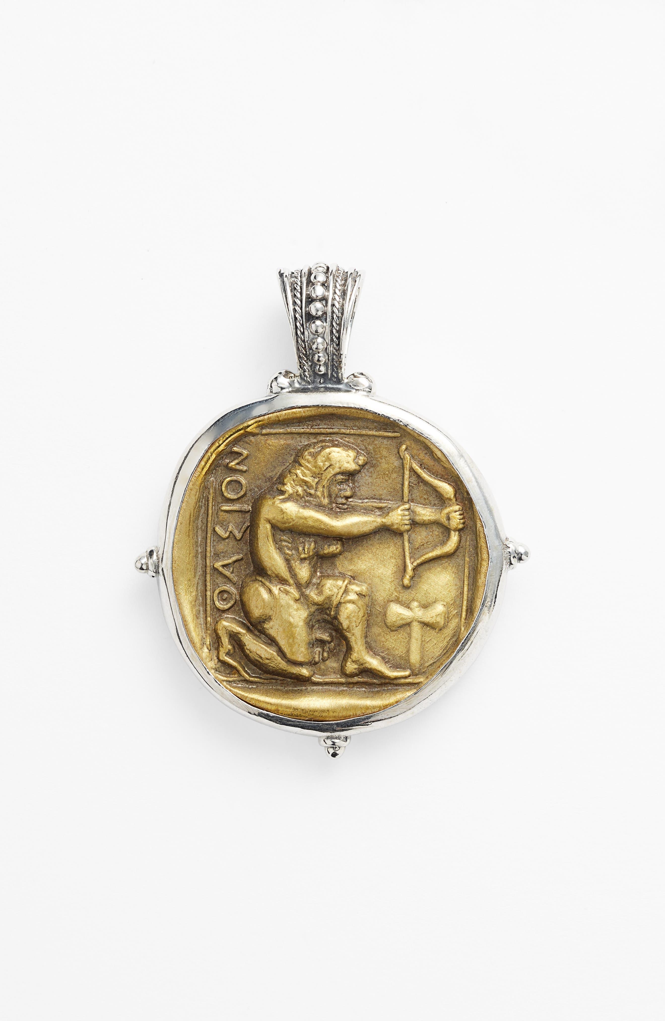 'Byzantium - Hercules' Pendant,                             Alternate thumbnail 3, color,