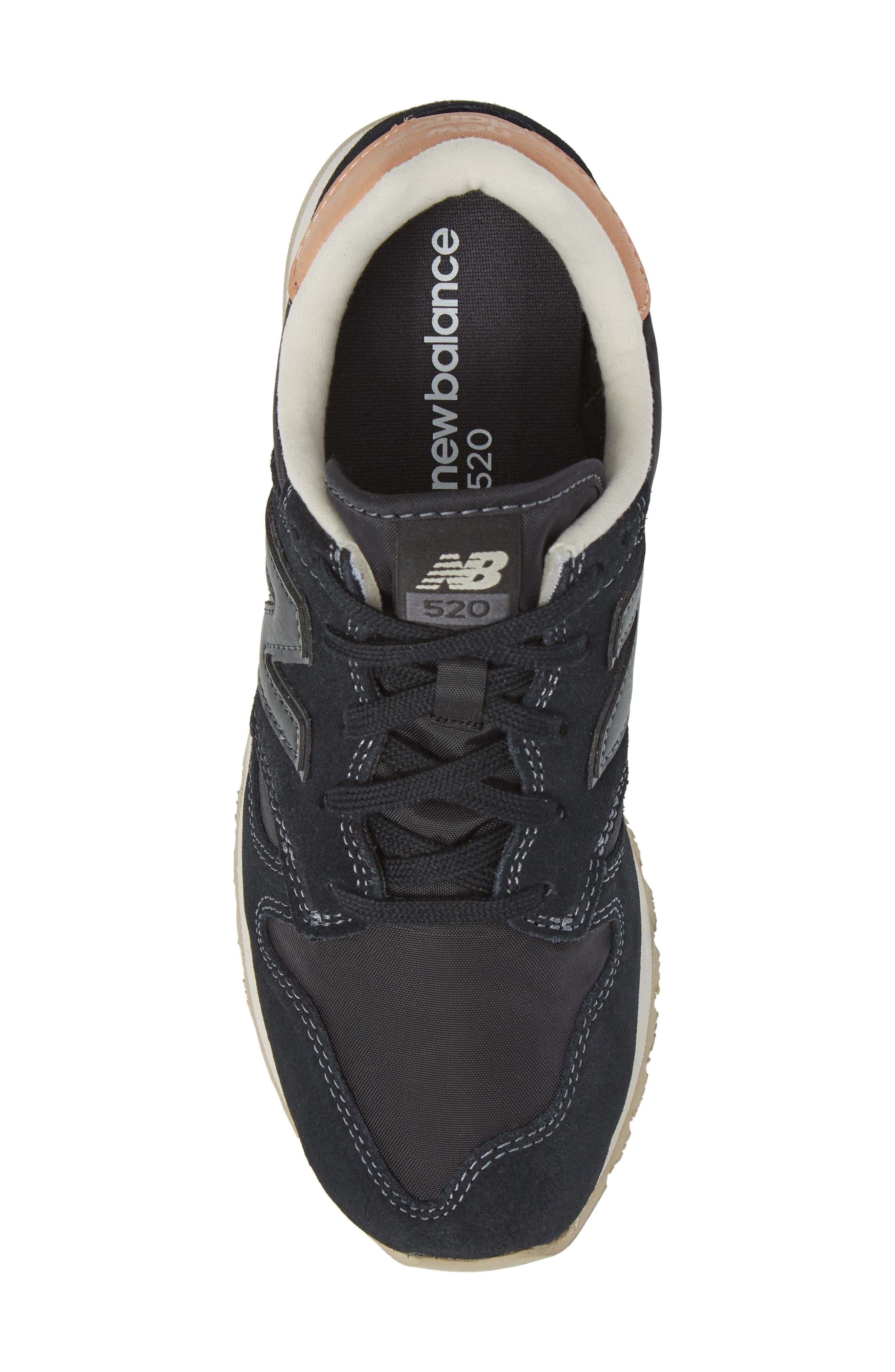 520 Sneaker,                             Alternate thumbnail 5, color,                             001