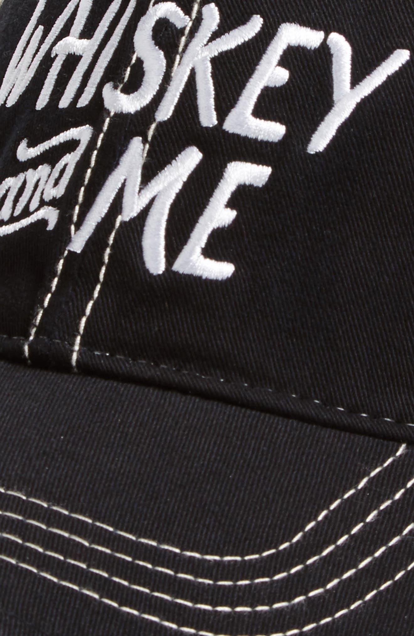 Original Retro Brand Whiskey & Me Trucker Hat,                             Alternate thumbnail 3, color,                             005