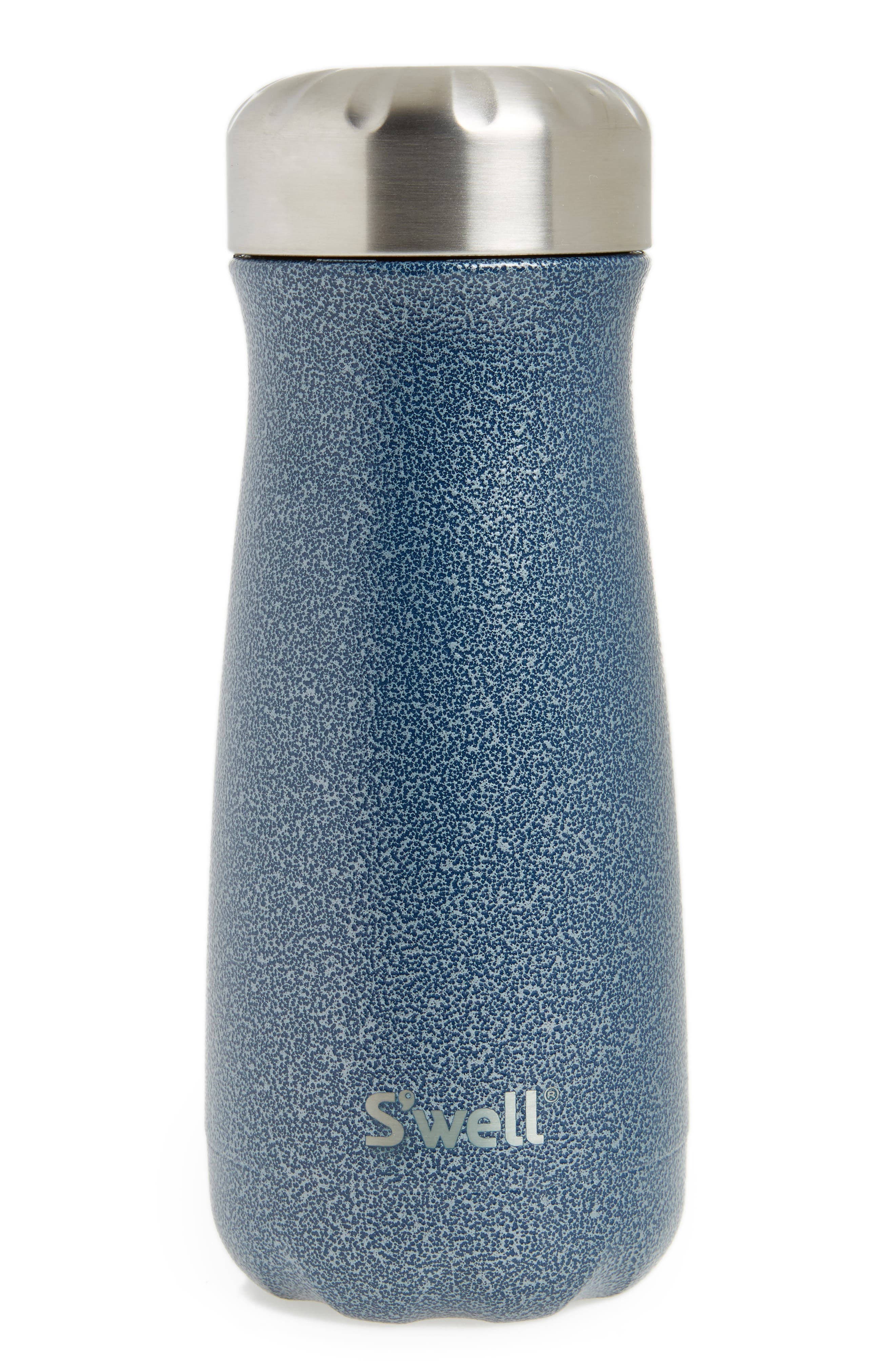 Night Sky 16-Ounce Insulated Traveler Bottle,                             Main thumbnail 1, color,                             NIGHT SKY