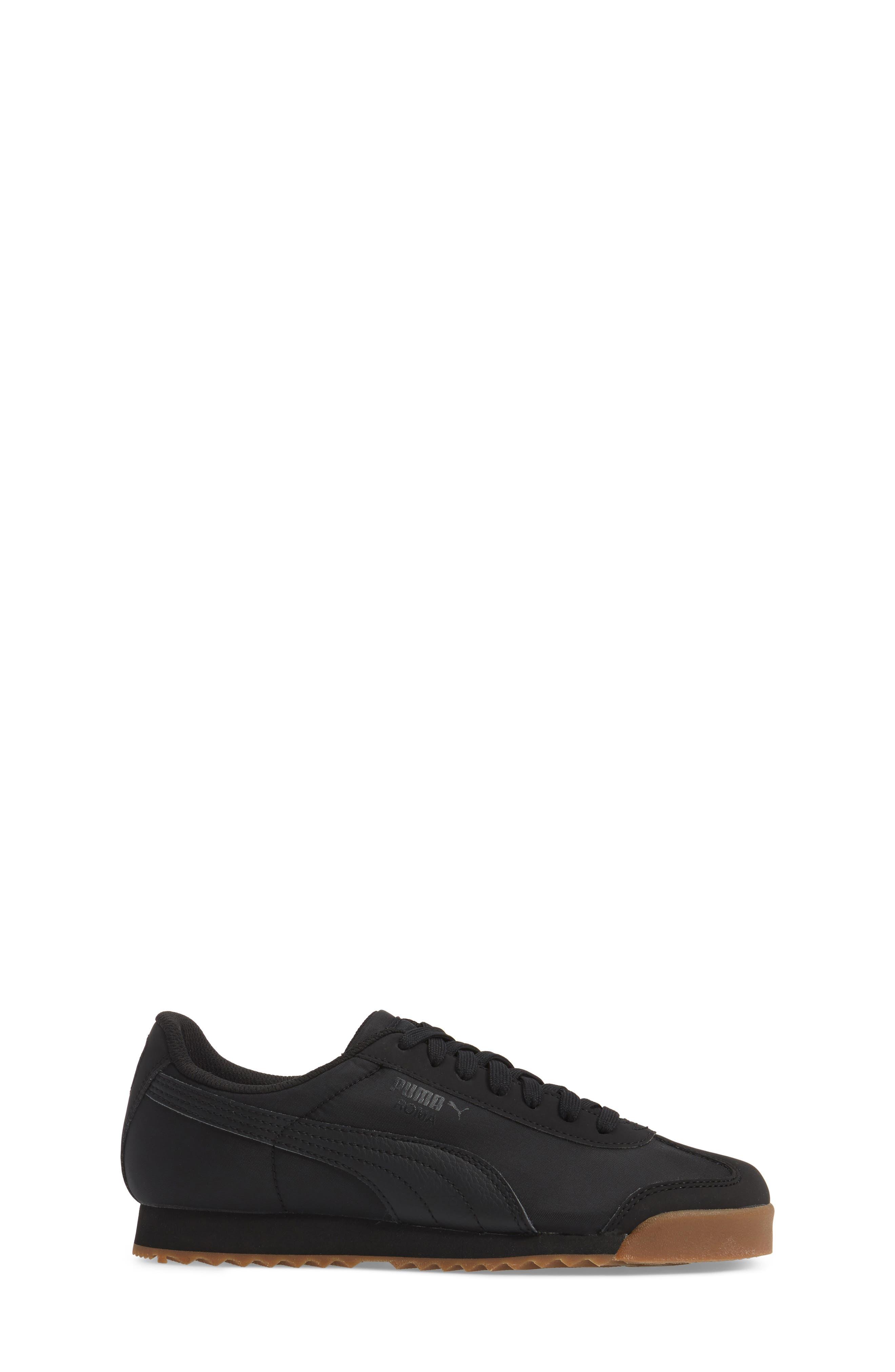 Roma Basic Summer Sneaker,                             Alternate thumbnail 3, color,                             001