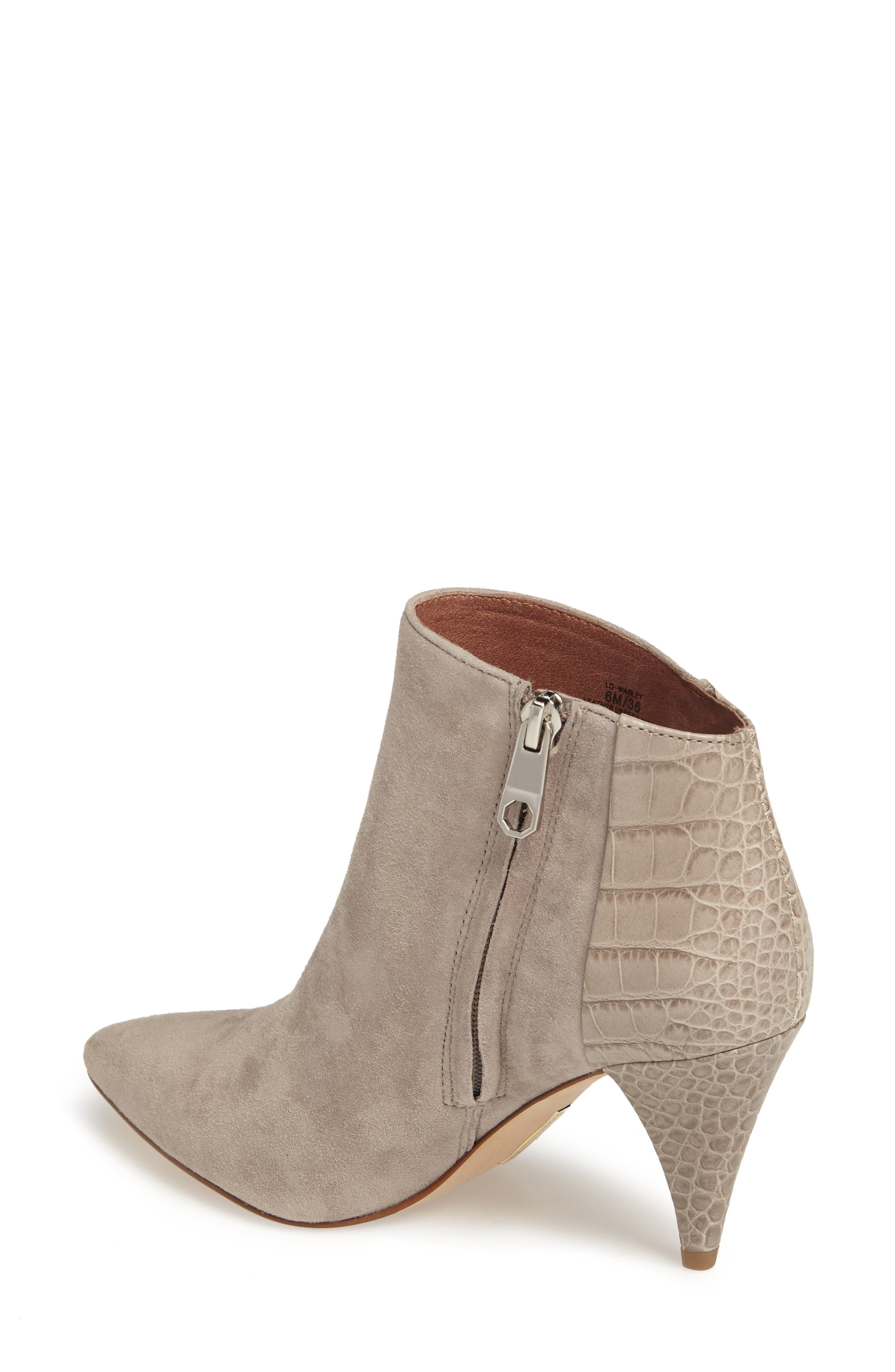 Warley Pointy Toe Bootie,                             Alternate thumbnail 5, color,