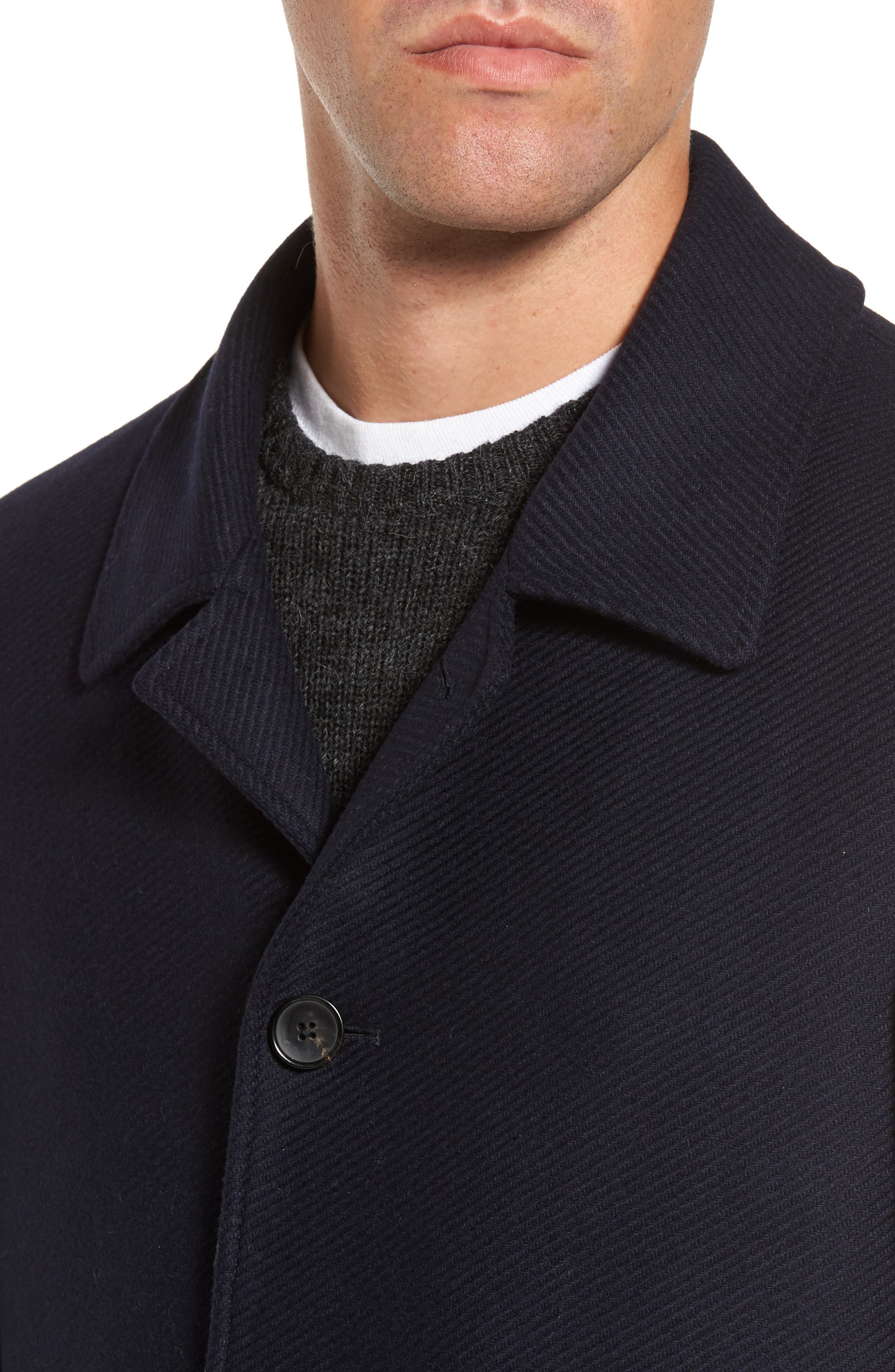 Christchurch Wool Blend Jacket,                             Alternate thumbnail 4, color,                             412