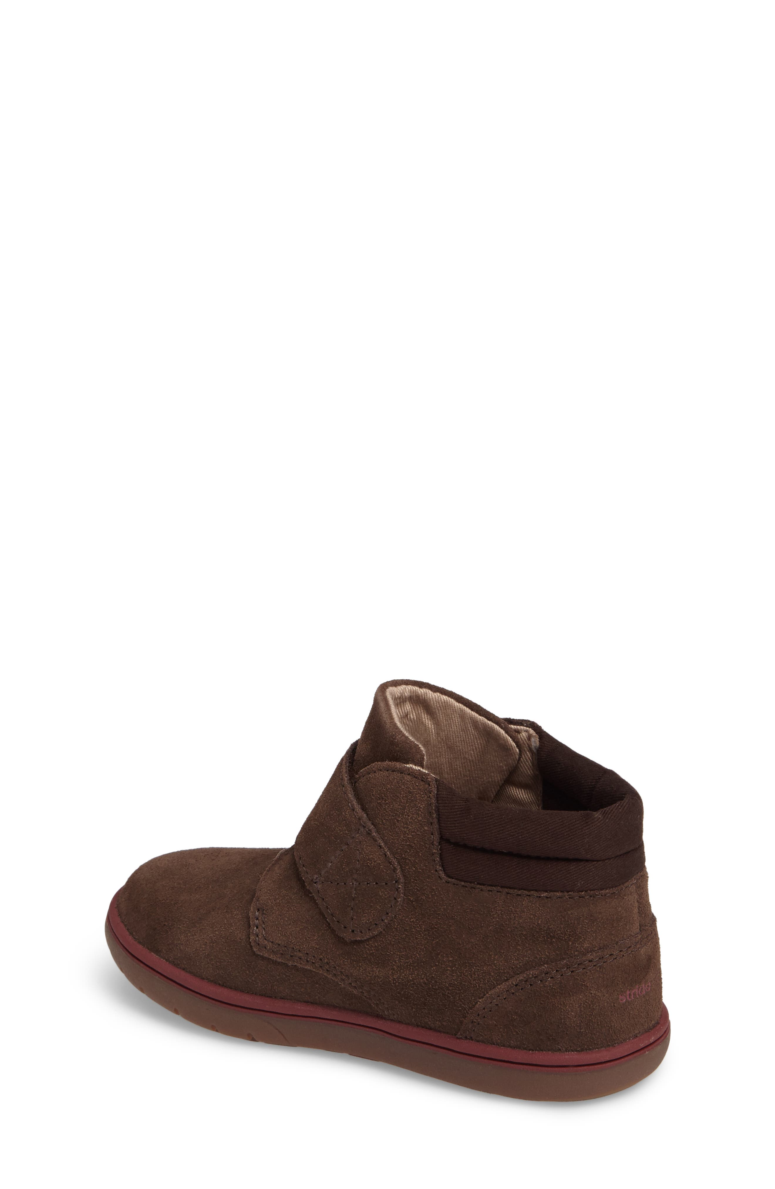 SRtech<sup>™</sup> Lincoln Bootie,                             Alternate thumbnail 2, color,                             BROWN SUEDE