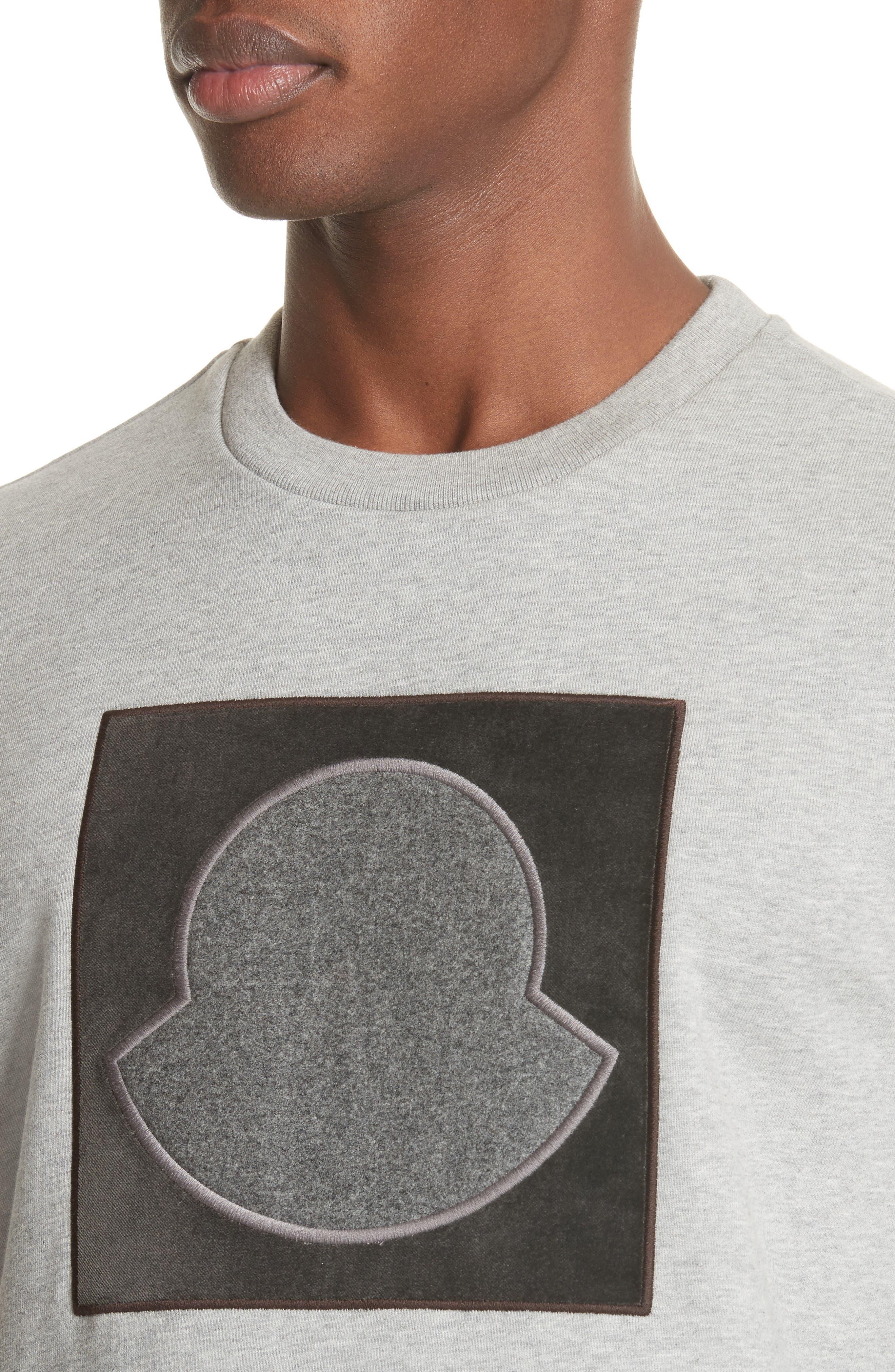 Maglia Bell Crewneck Sweatshirt,                             Alternate thumbnail 4, color,                             GREY