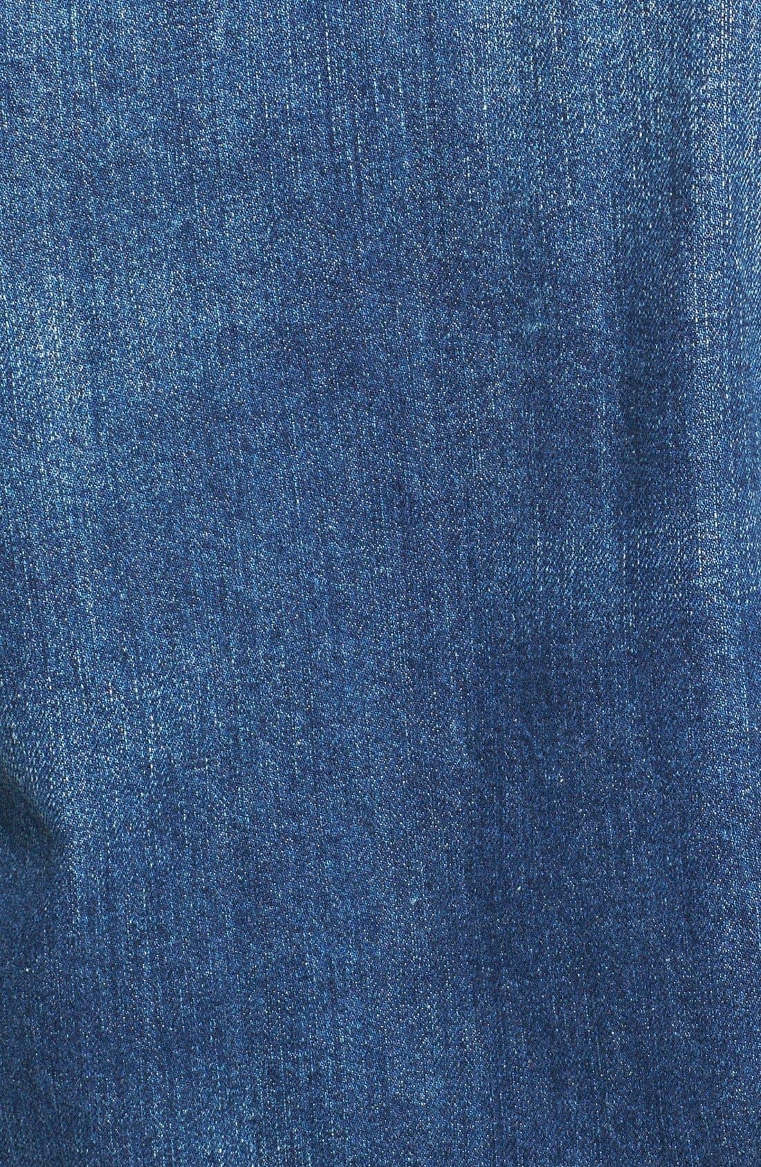 Classic Selvedge Denim Jacket,                             Alternate thumbnail 5, color,                             479