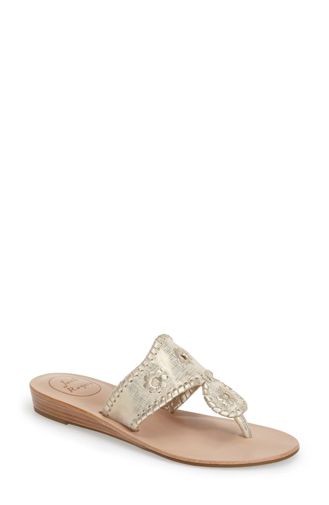 'Capri' Etched Sandal, Main, color, 042
