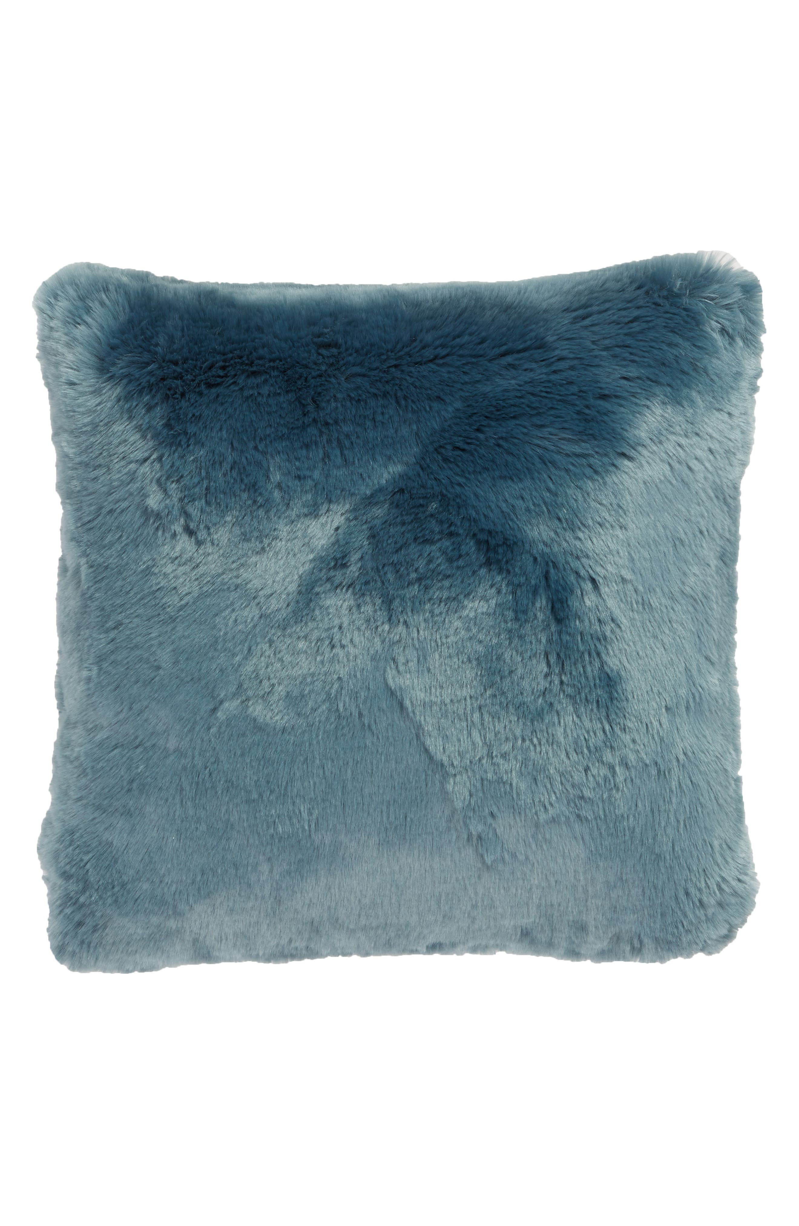 Cuddle Up Faux Fur Pillow,                             Alternate thumbnail 2, color,                             440