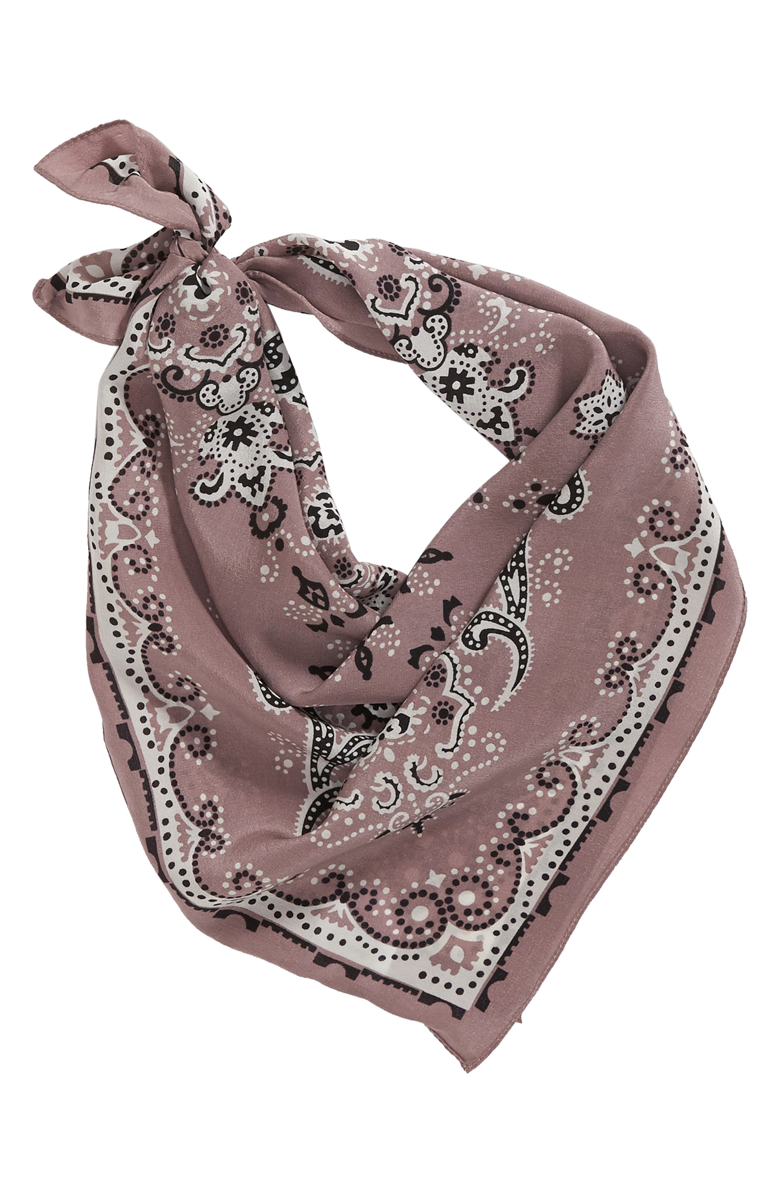 Silk Bandana,                             Alternate thumbnail 17, color,