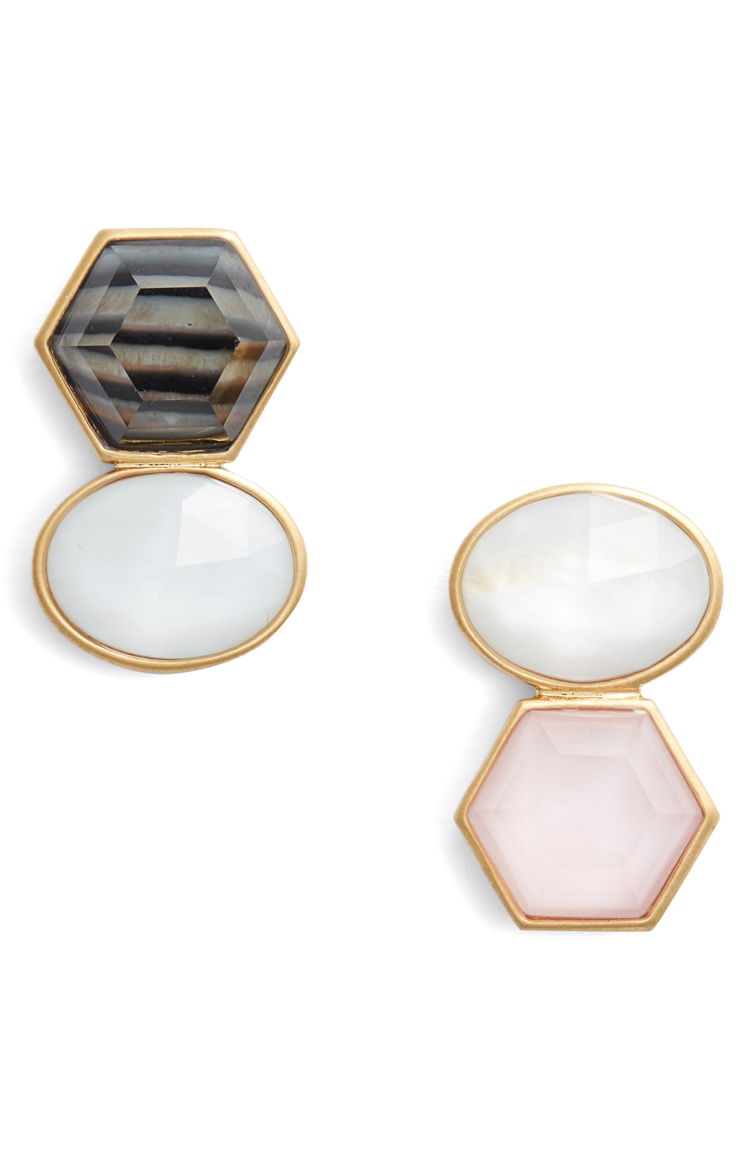 sunshine stones drop earrings,                             Main thumbnail 2, color,