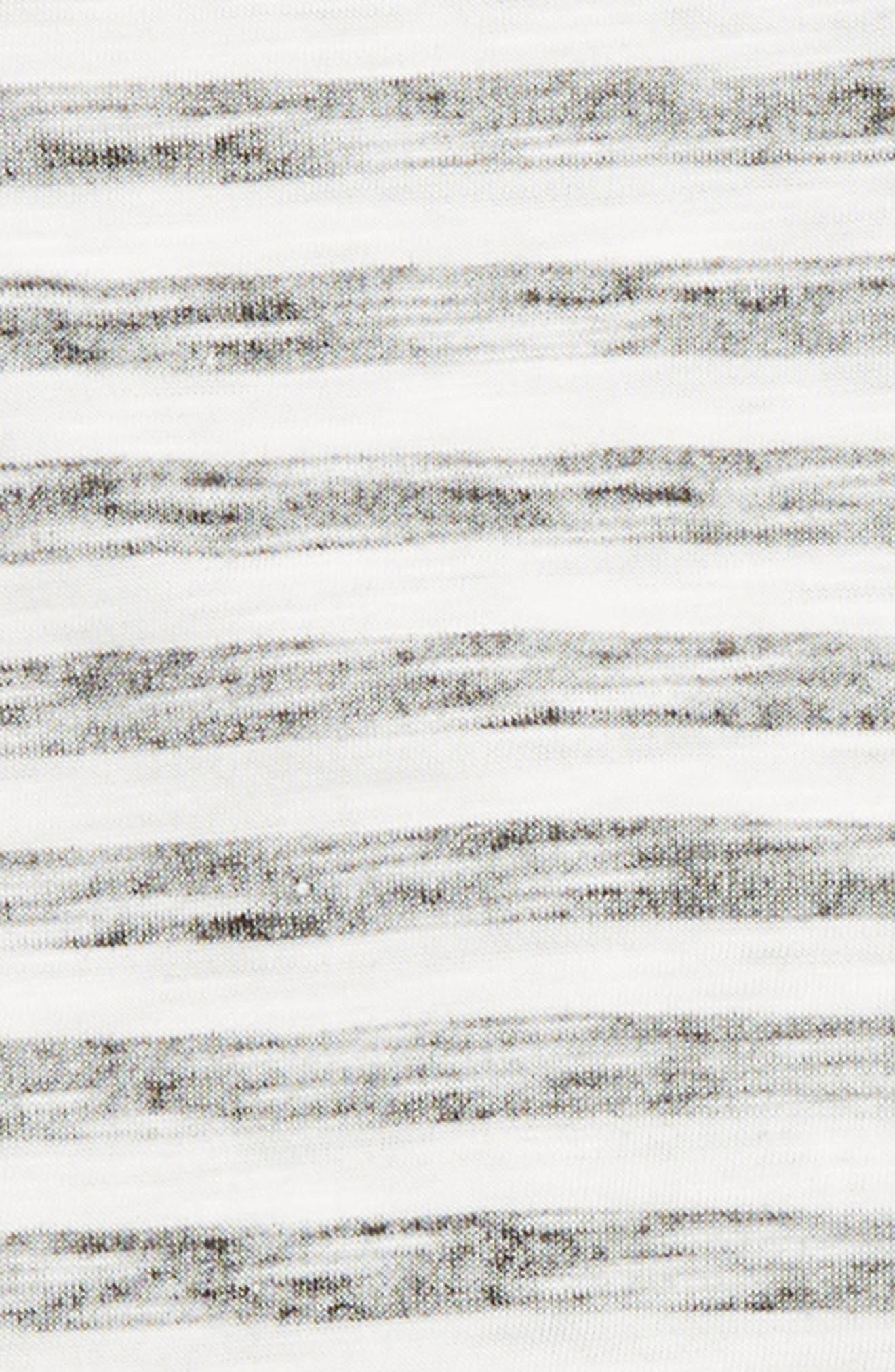 SPLENDID,                             Reverse Print Raglan Shirt & Sweatpants Set,                             Alternate thumbnail 2, color,                             BLACK