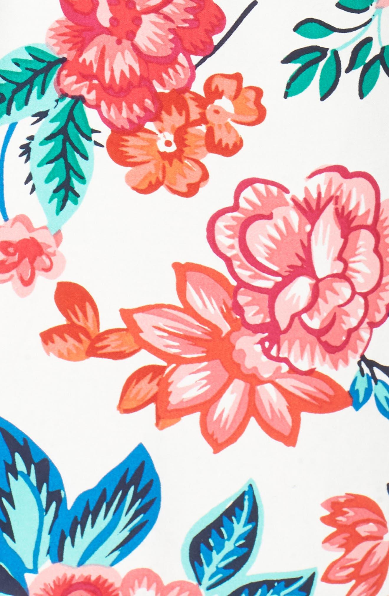 Sleeveless V-Neck Stretch Cotton Jumpsuit,                             Alternate thumbnail 6, color,                             900