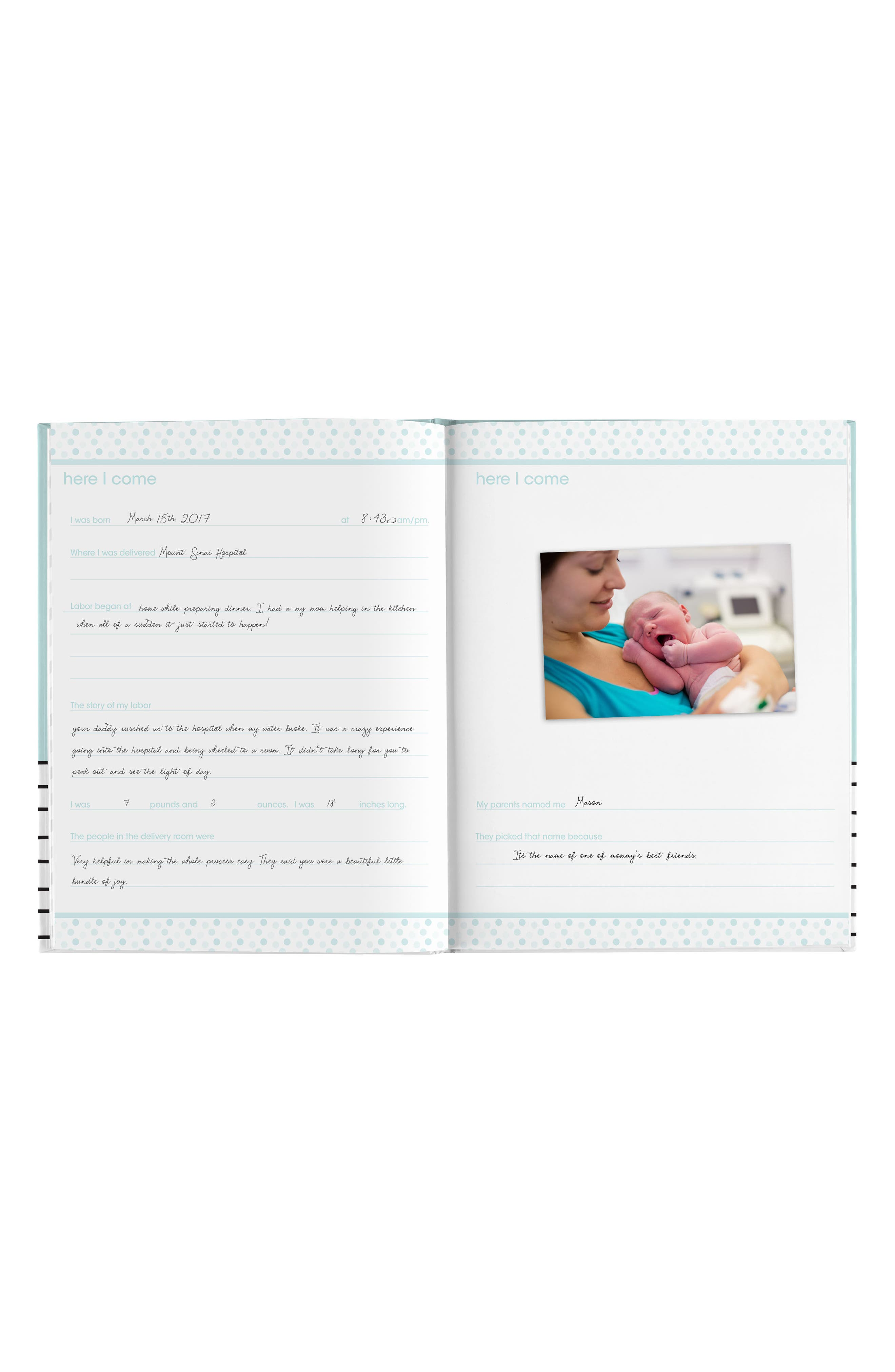 PEARHEAD,                             Hello Baby Book,                             Alternate thumbnail 2, color,                             BLUE