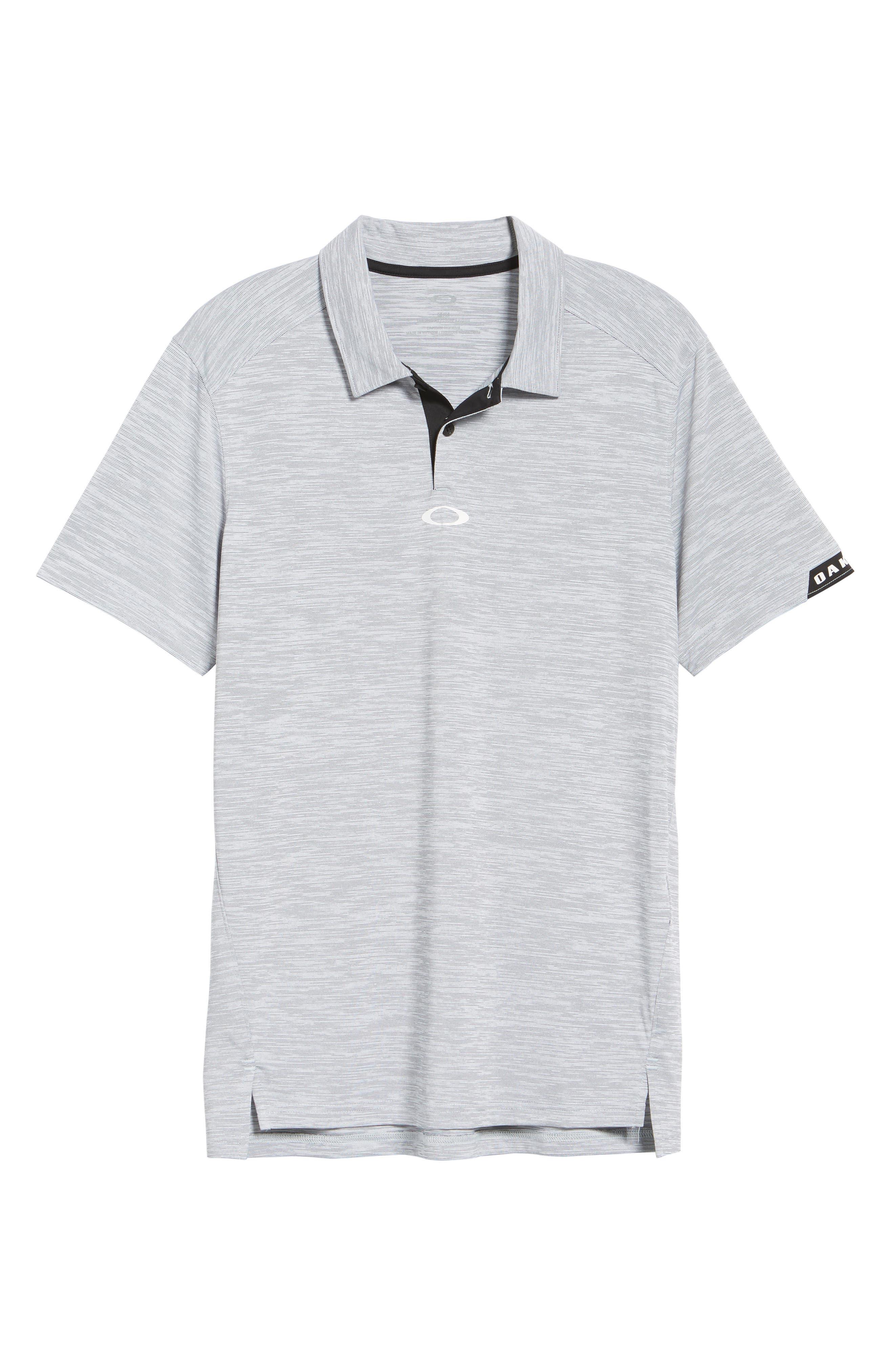 Gravity Polo Shirt,                             Alternate thumbnail 6, color,                             BLACKOUT