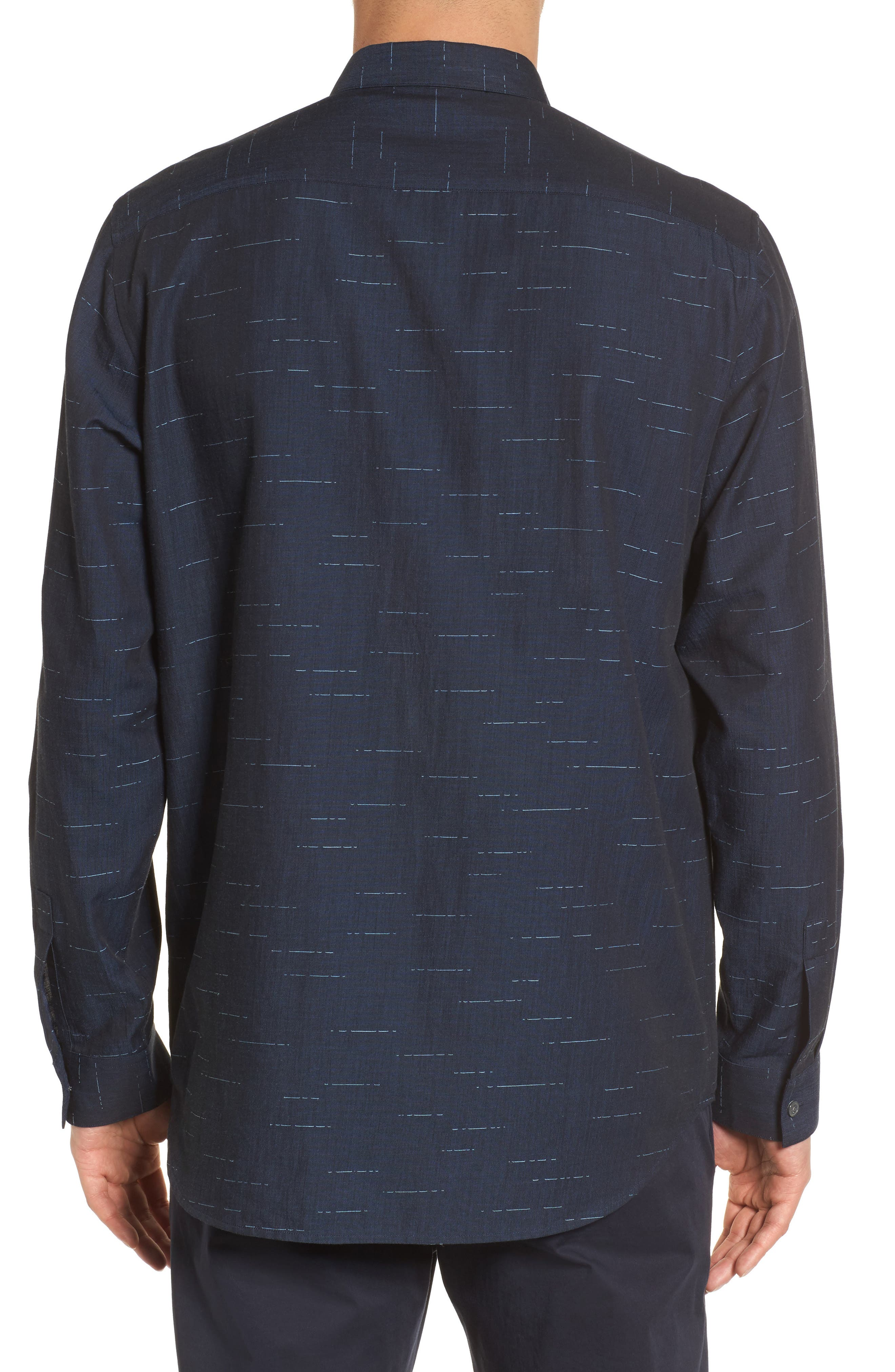 Tait Trim Fit Print Sport Shirt,                             Alternate thumbnail 2, color,                             497