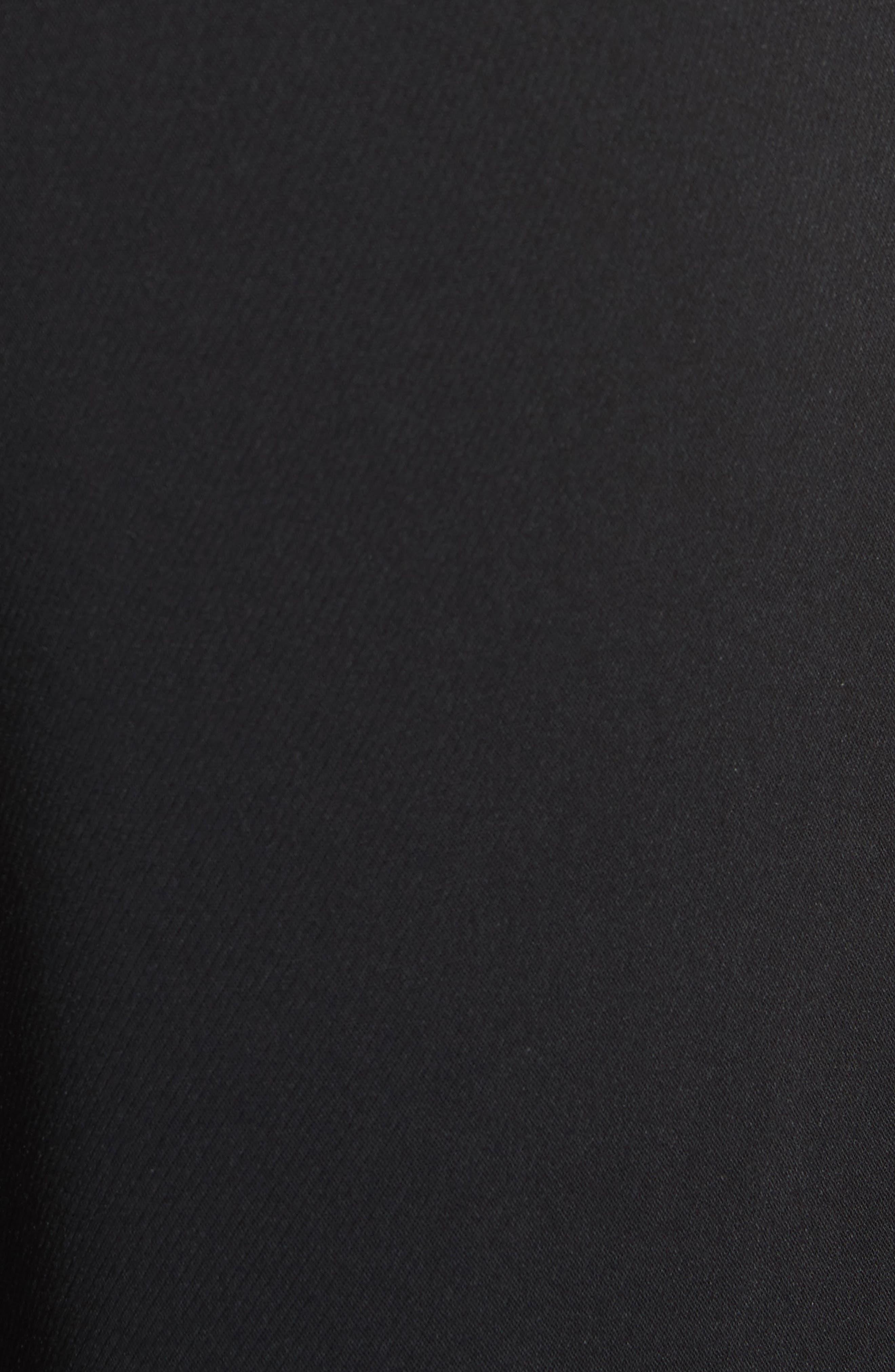 Yasin Wide Leg Wrap Front Trousers,                             Alternate thumbnail 5, color,                             001