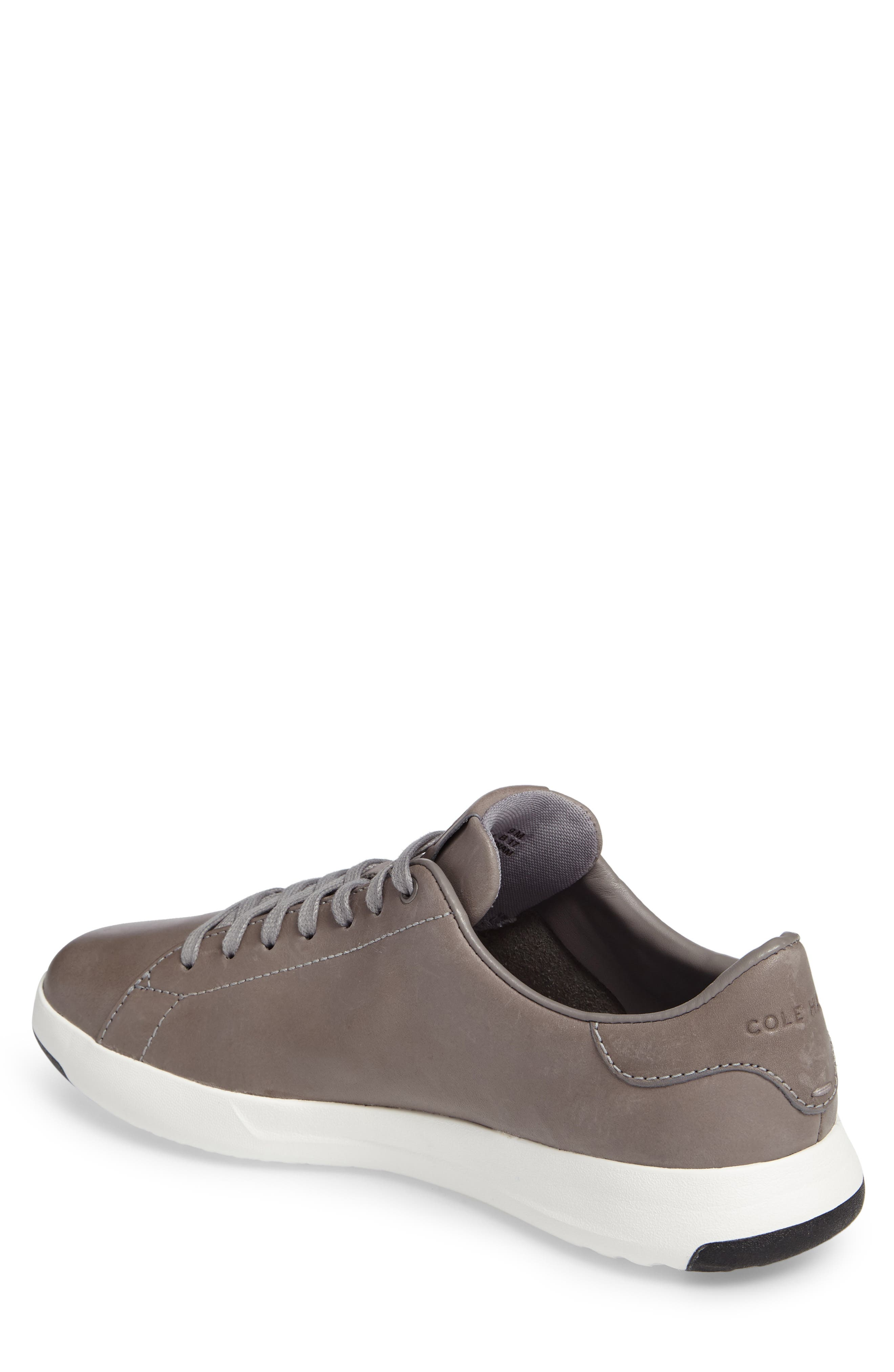 GrandPro Tennis Sneaker,                             Alternate thumbnail 2, color,                             IRONCLOUD LEATHER