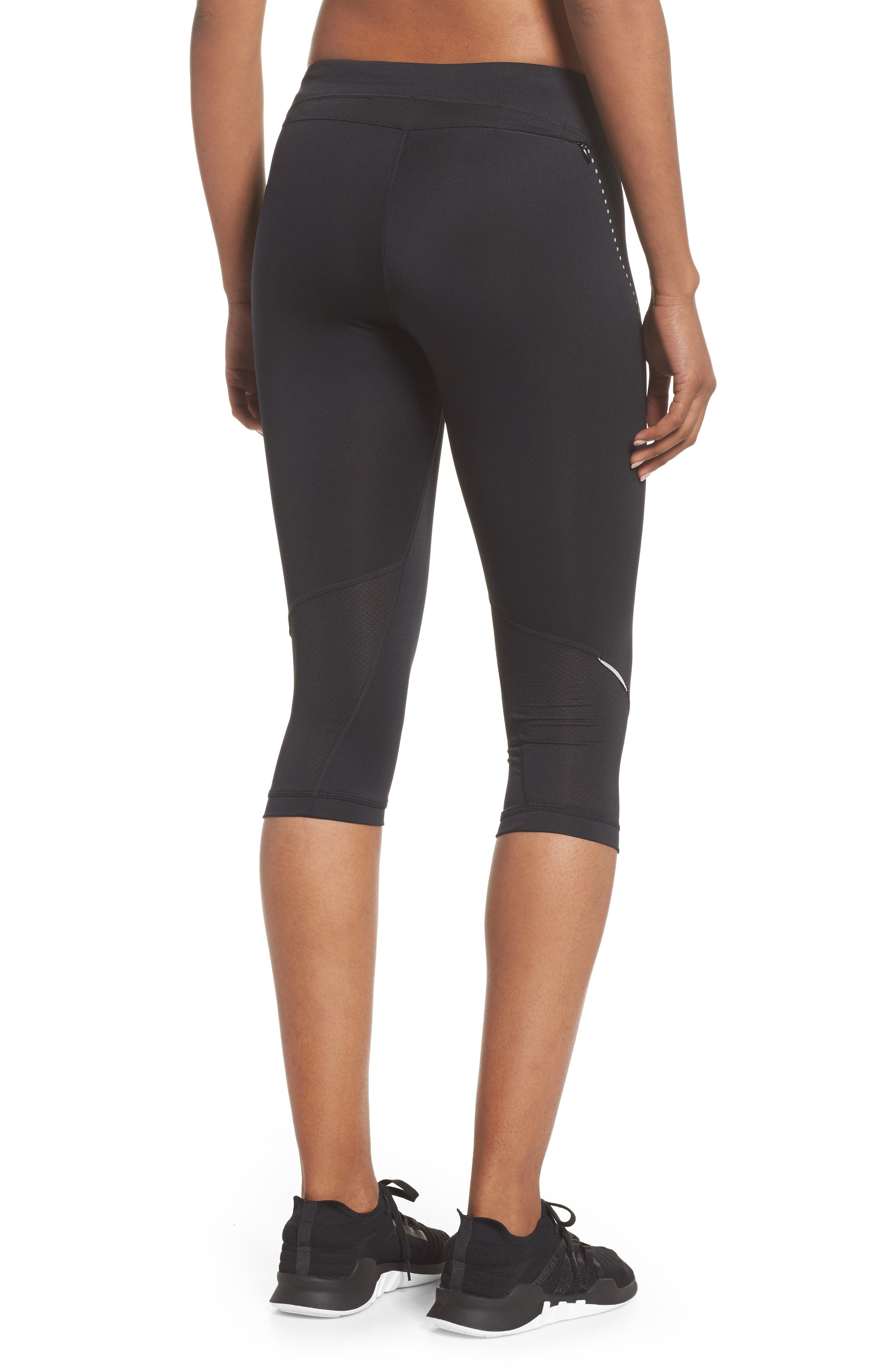Essential Capri Leggings,                             Alternate thumbnail 2, color,