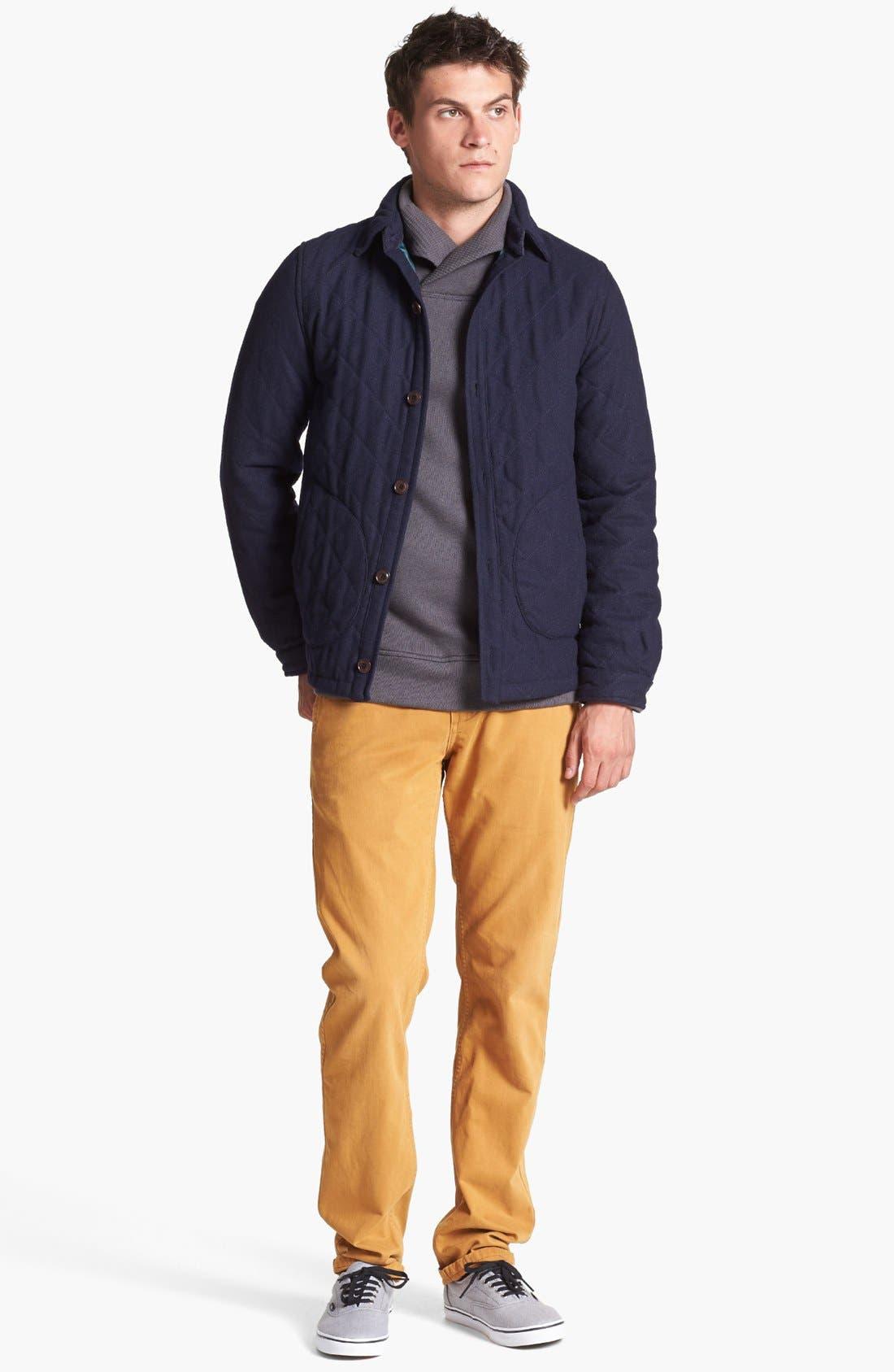 'Ellsworth' Shawl Collar Pullover,                             Alternate thumbnail 4, color,                             020