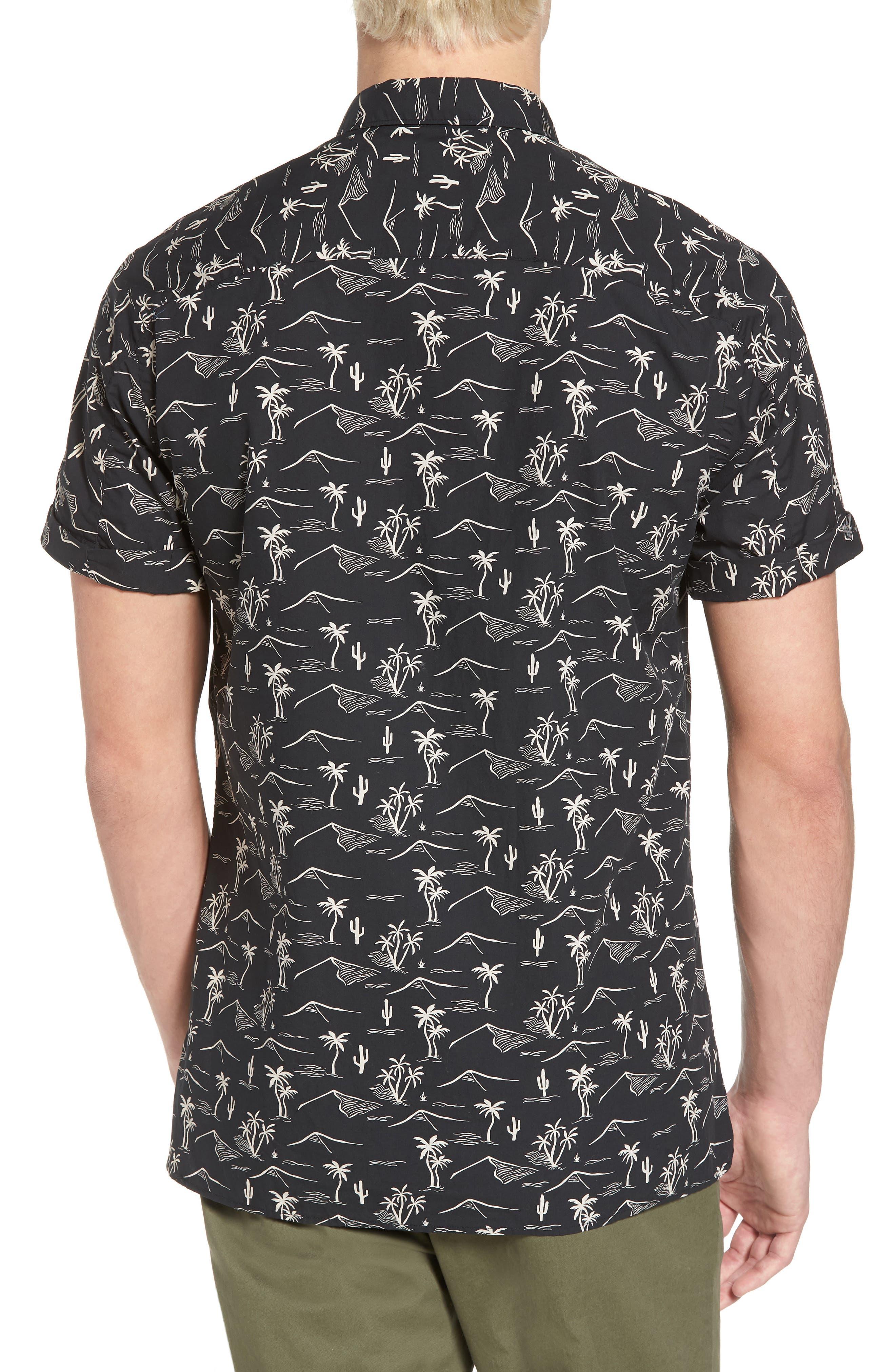 Poolside Woven Shirt,                             Alternate thumbnail 2, color,                             002