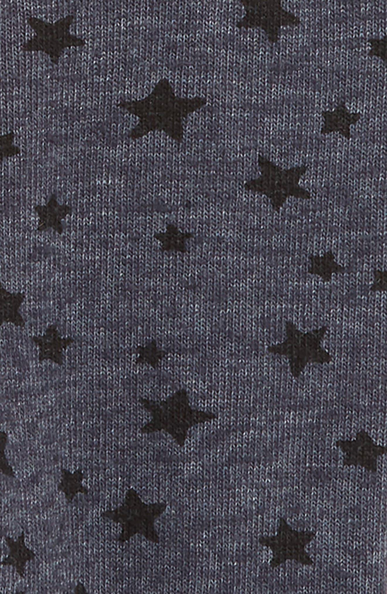 SPLENDID,                             Ruffle T-Shirt & Star Leggings Set,                             Alternate thumbnail 2, color,                             ANTIQUE PINK BEIGE